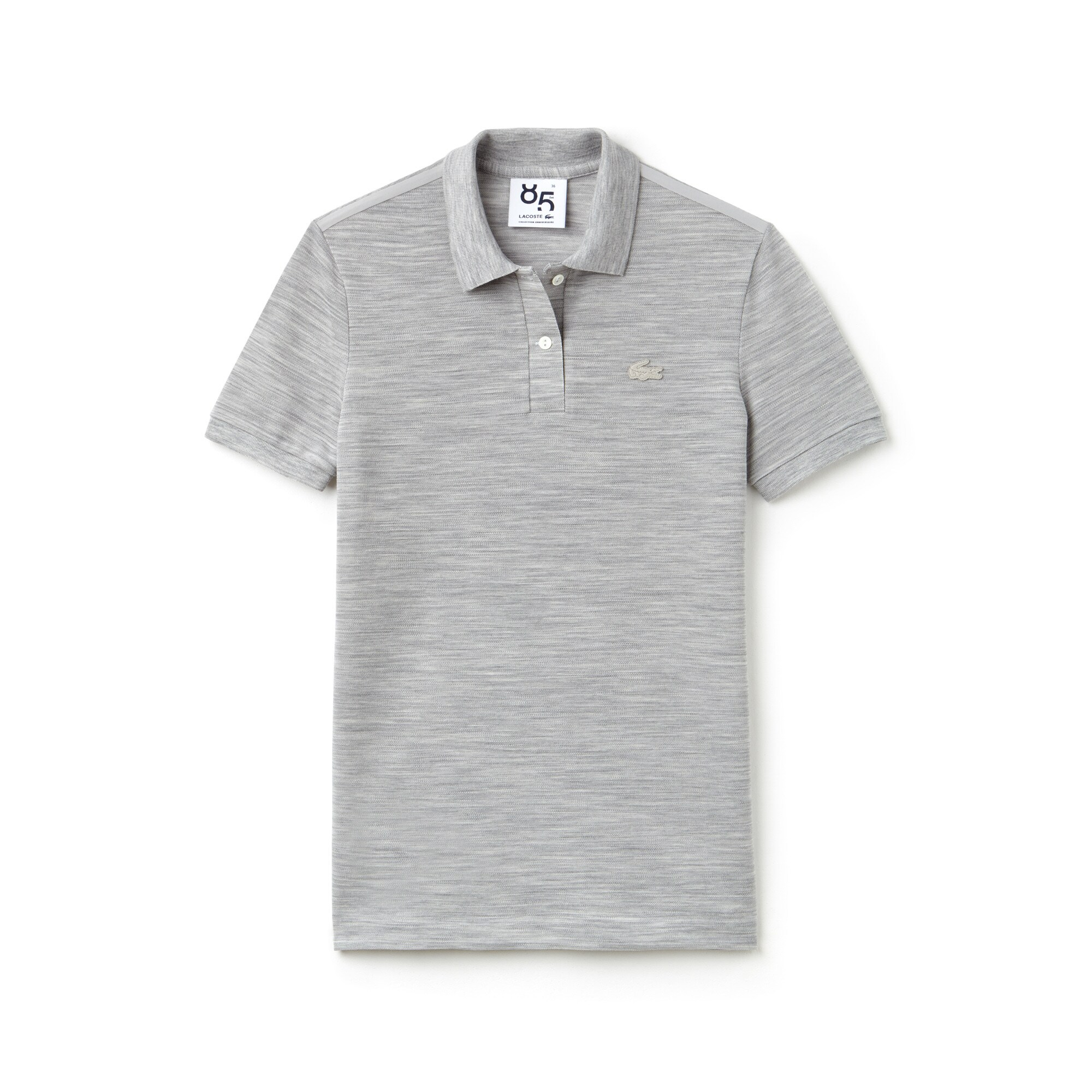 Classic Fit Damen-Polo LACOSTE LIMITED EDITION 85 ANS