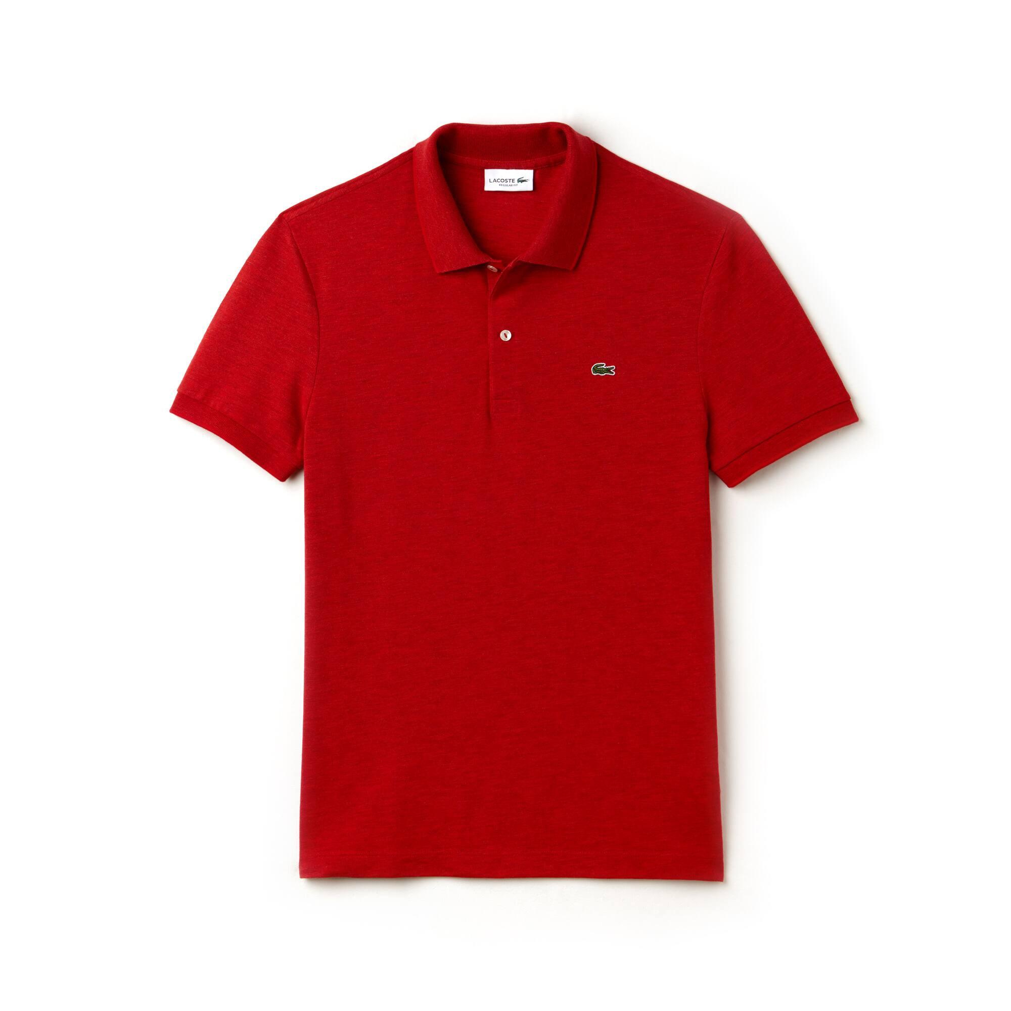 Regular Fit Herren-Poloshirt aus weichem Piqué