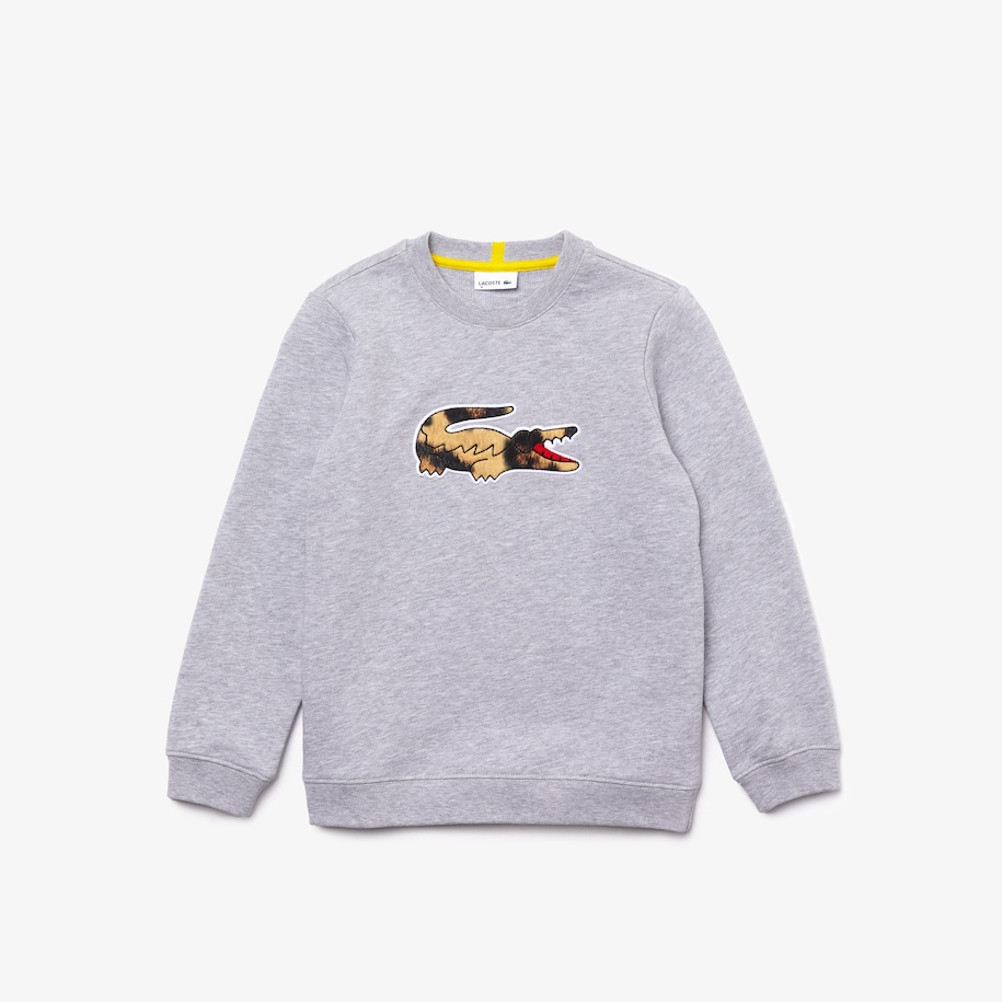 Sweatshirt Garçon Lacoste x National Geographic en molleton