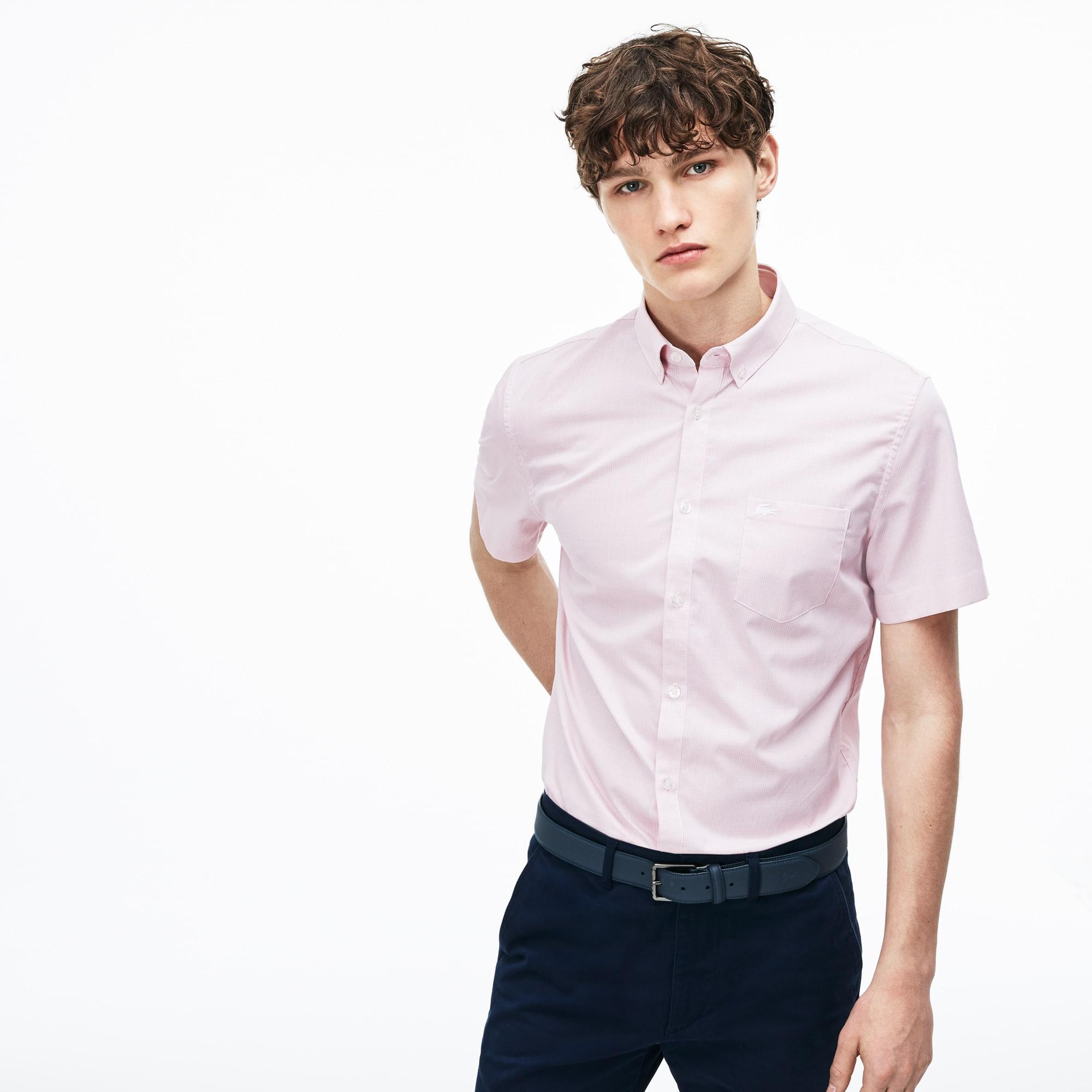 CourtesVêtements Homme Lacoste Chemises Manches À QdxtshrC
