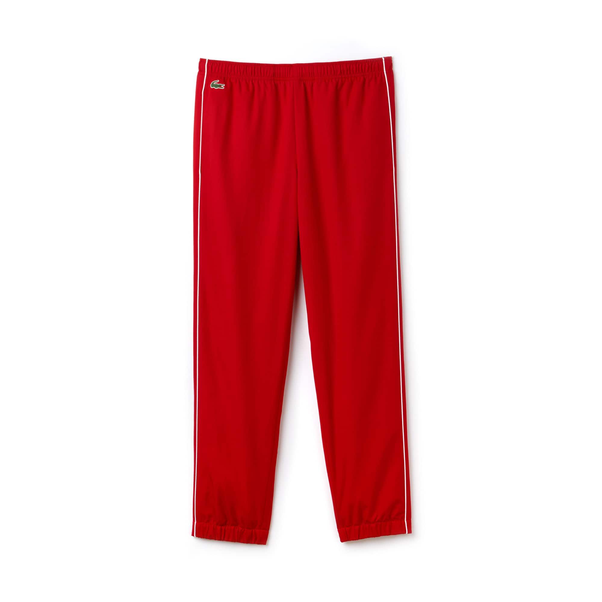 Pantalon Taffetas Lacoste Piping De Survêtement Avec Sport En H2EY9IWD