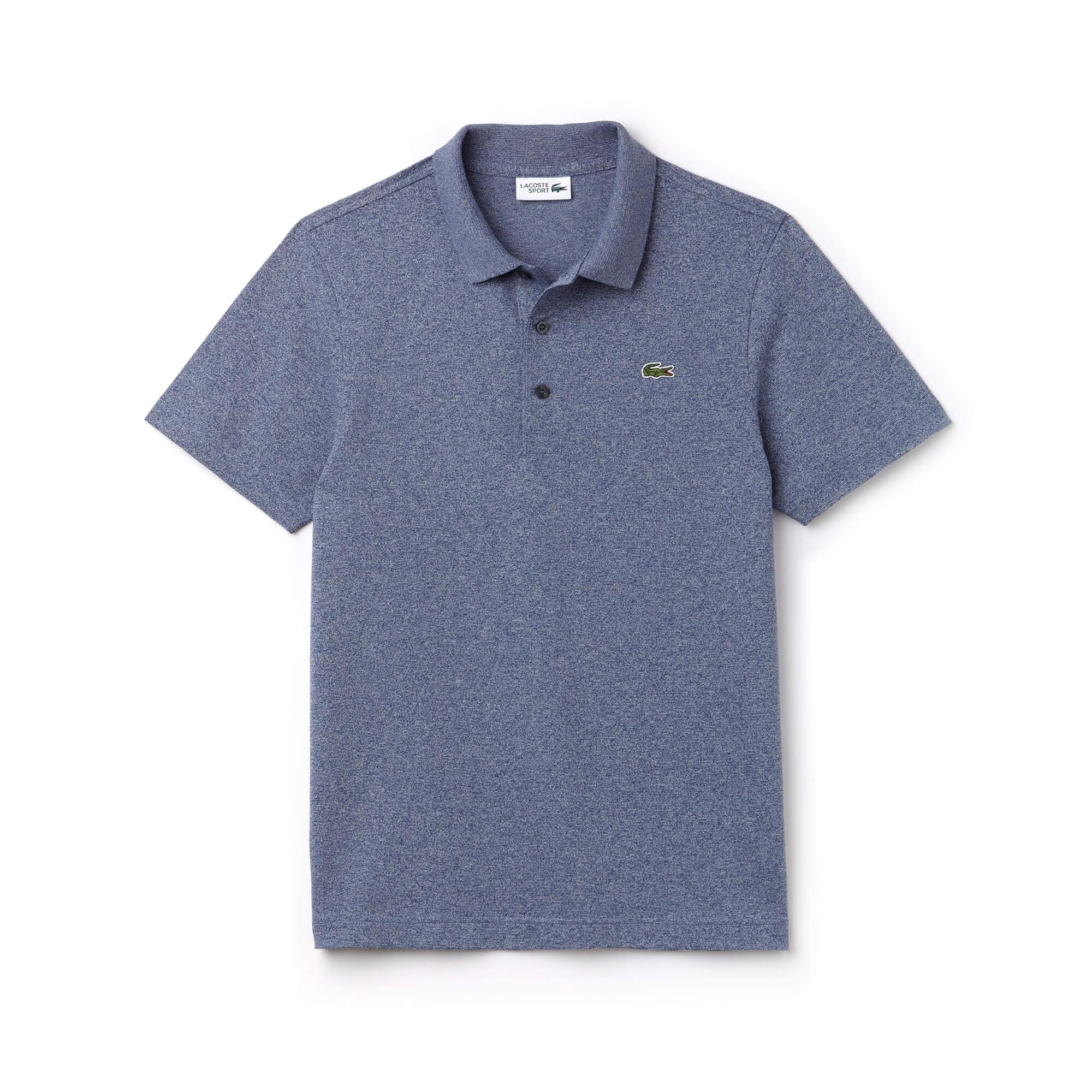 Polo Regular Fit en maille de coton jacquard léger Ip1cb