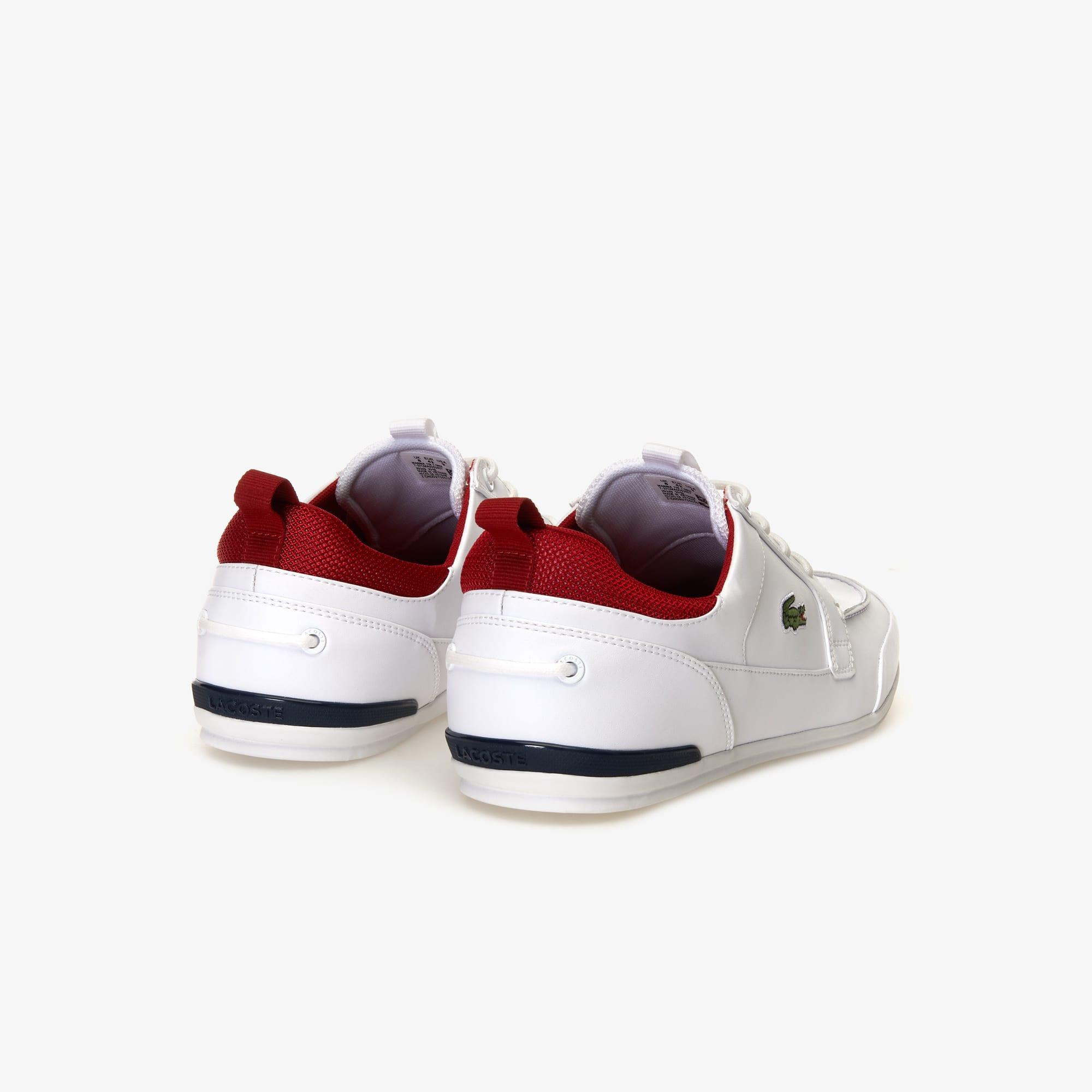 a3cbefef81 Chaussures Cuir Et Bateau Marina Lacoste Textile En Homme ZpgZrnq1