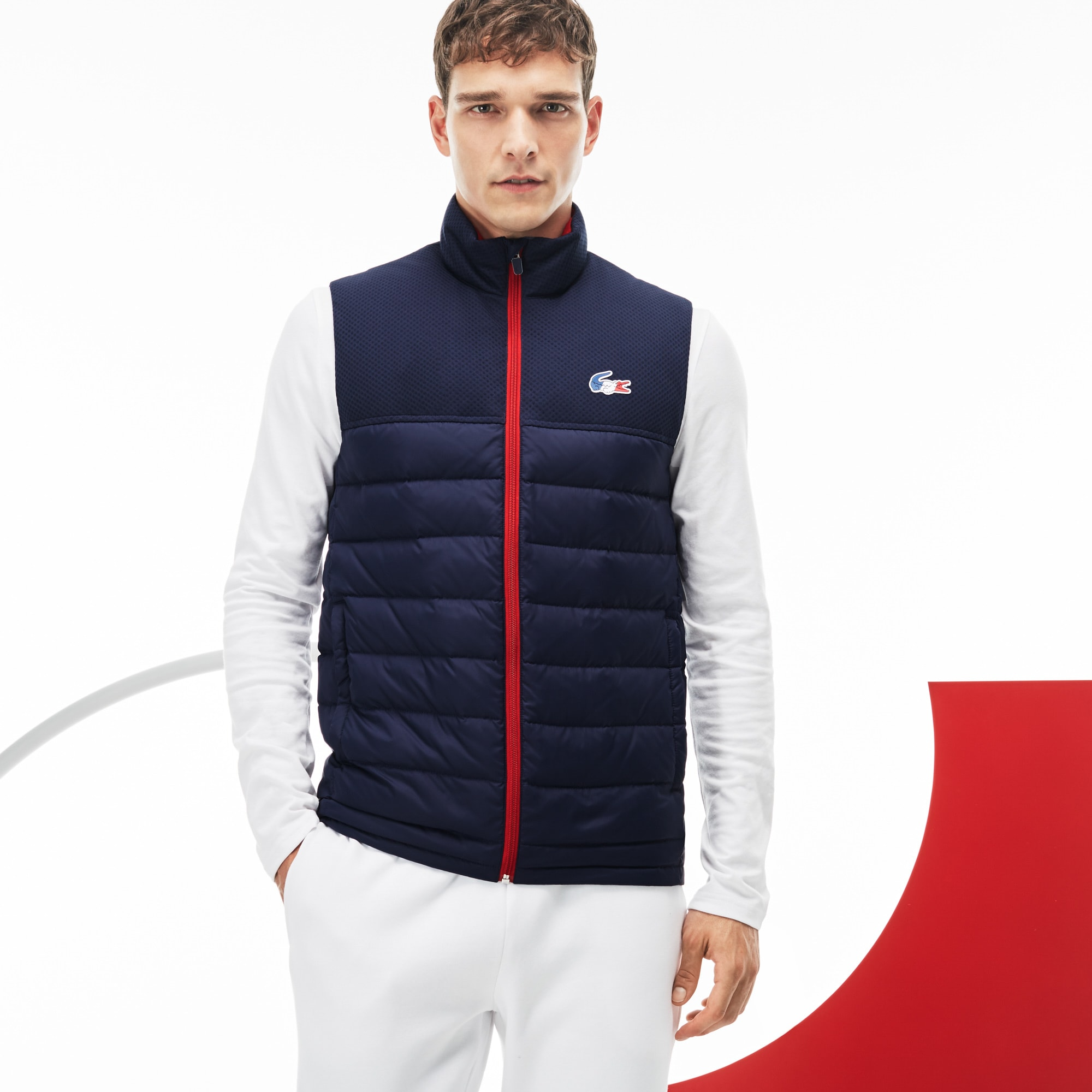 Colete Lacoste French Sporting Spirit Edition Masculino