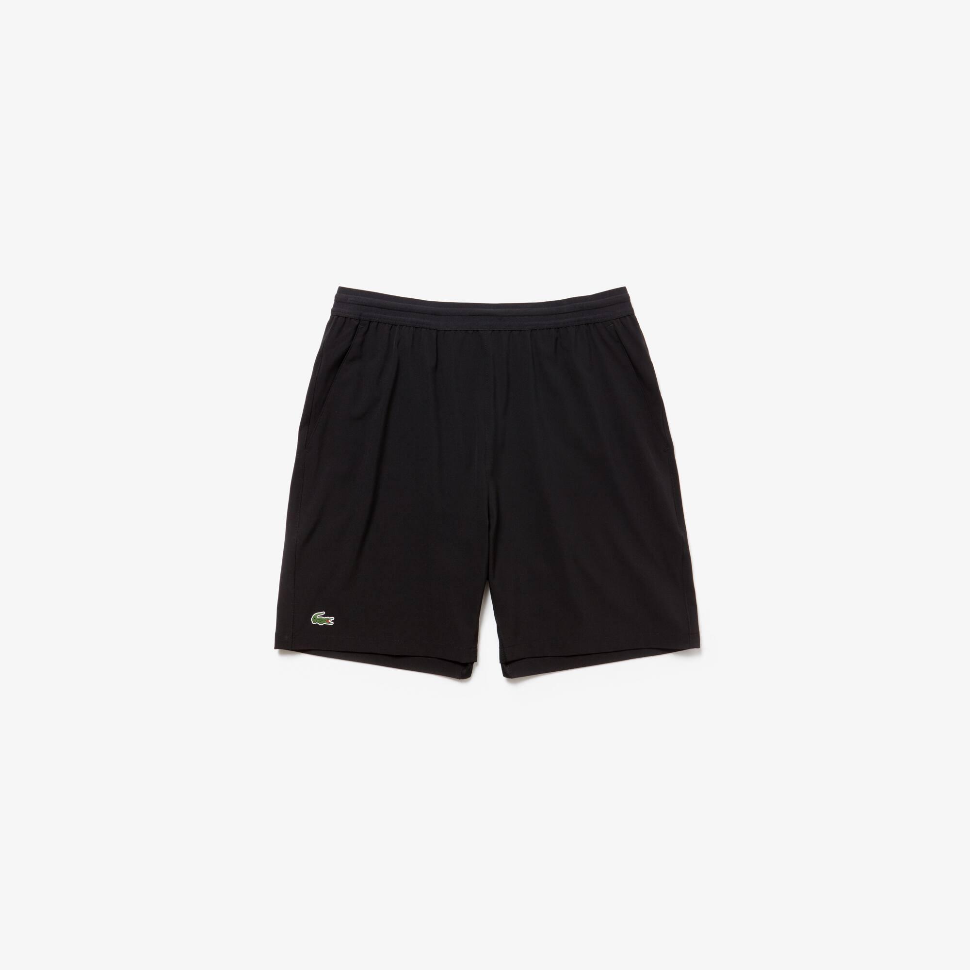 Short Lacoste SPORT Tennis Masculino Stretch Estampado