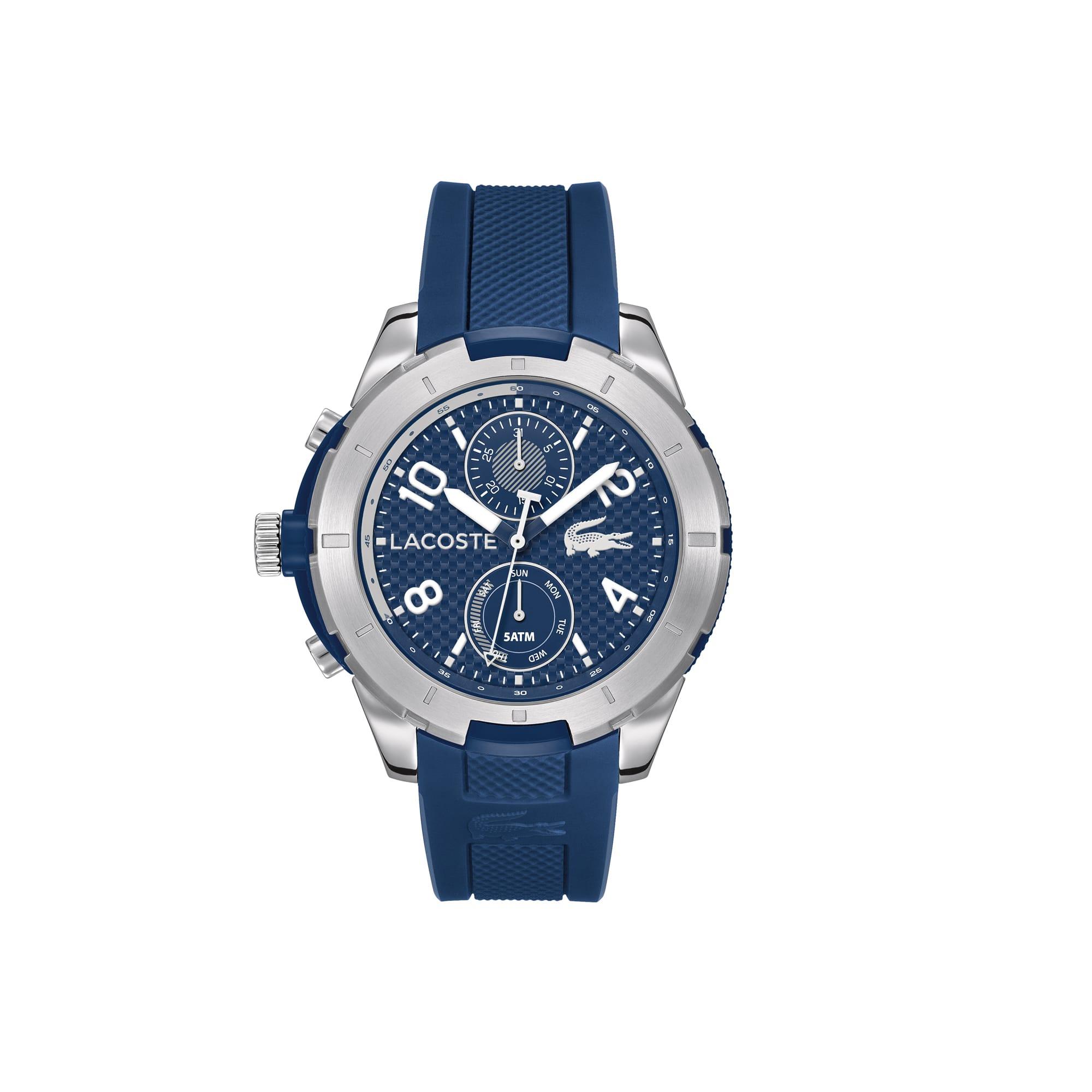 Relógio Tonga com pulseira de silicone pique