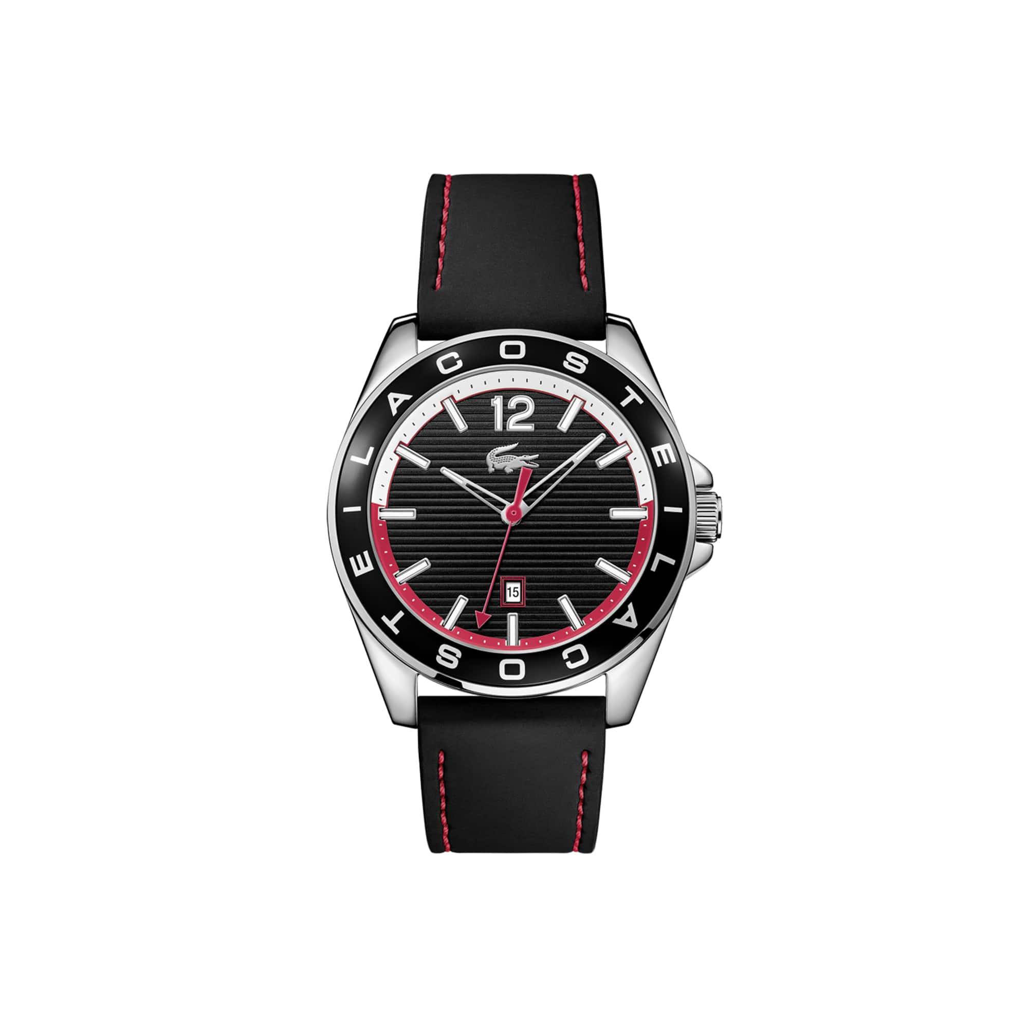 Relógio Westport Homem com Bracelete em Couro Preto