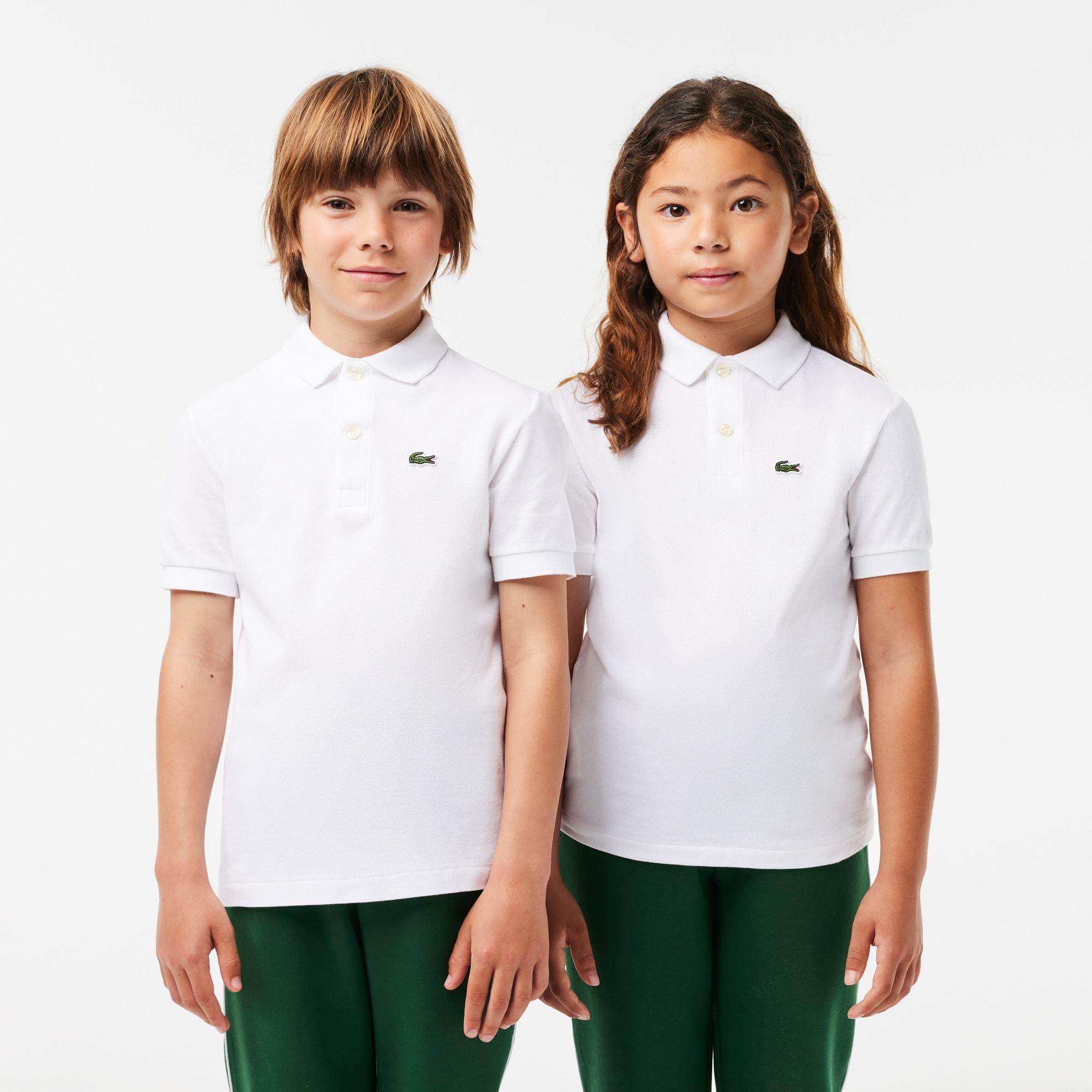 Polo Lacoste Infantil Masculina em Petit Piqué