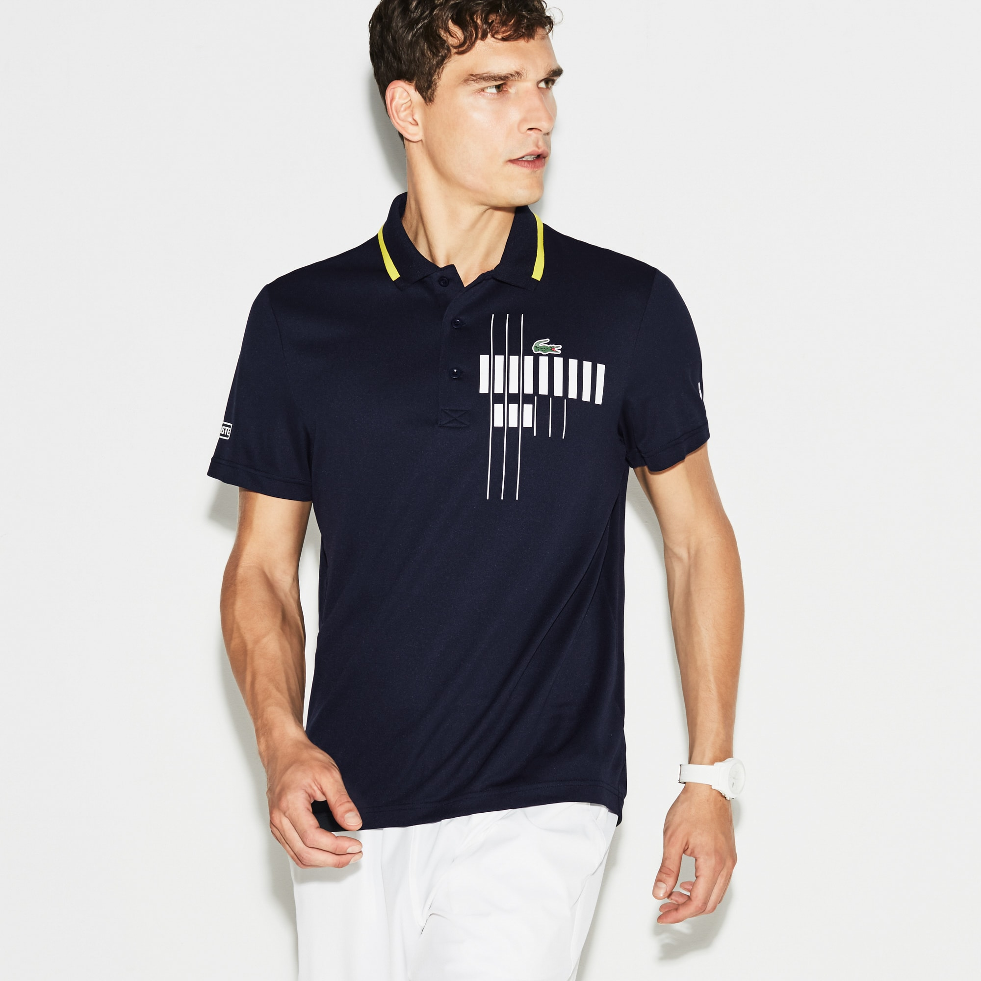 Jaqueta Lacoste Collection para Novak Djokovic – Exclusiva Blue Edition