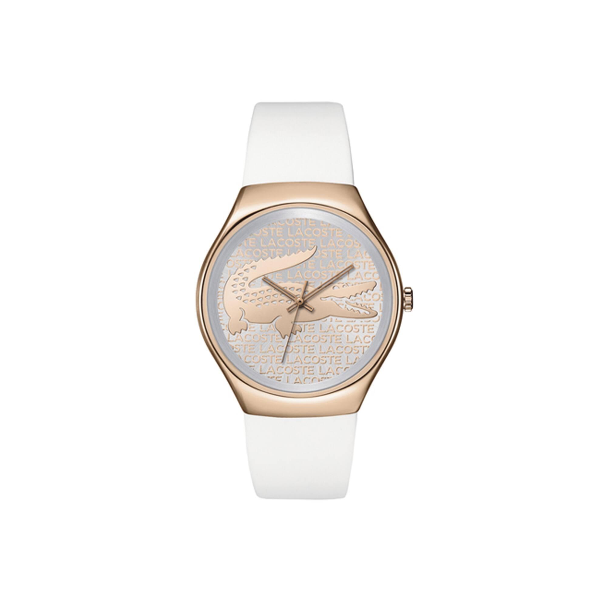 Relógio Charlotte com cronógrafo e pulseira de resina