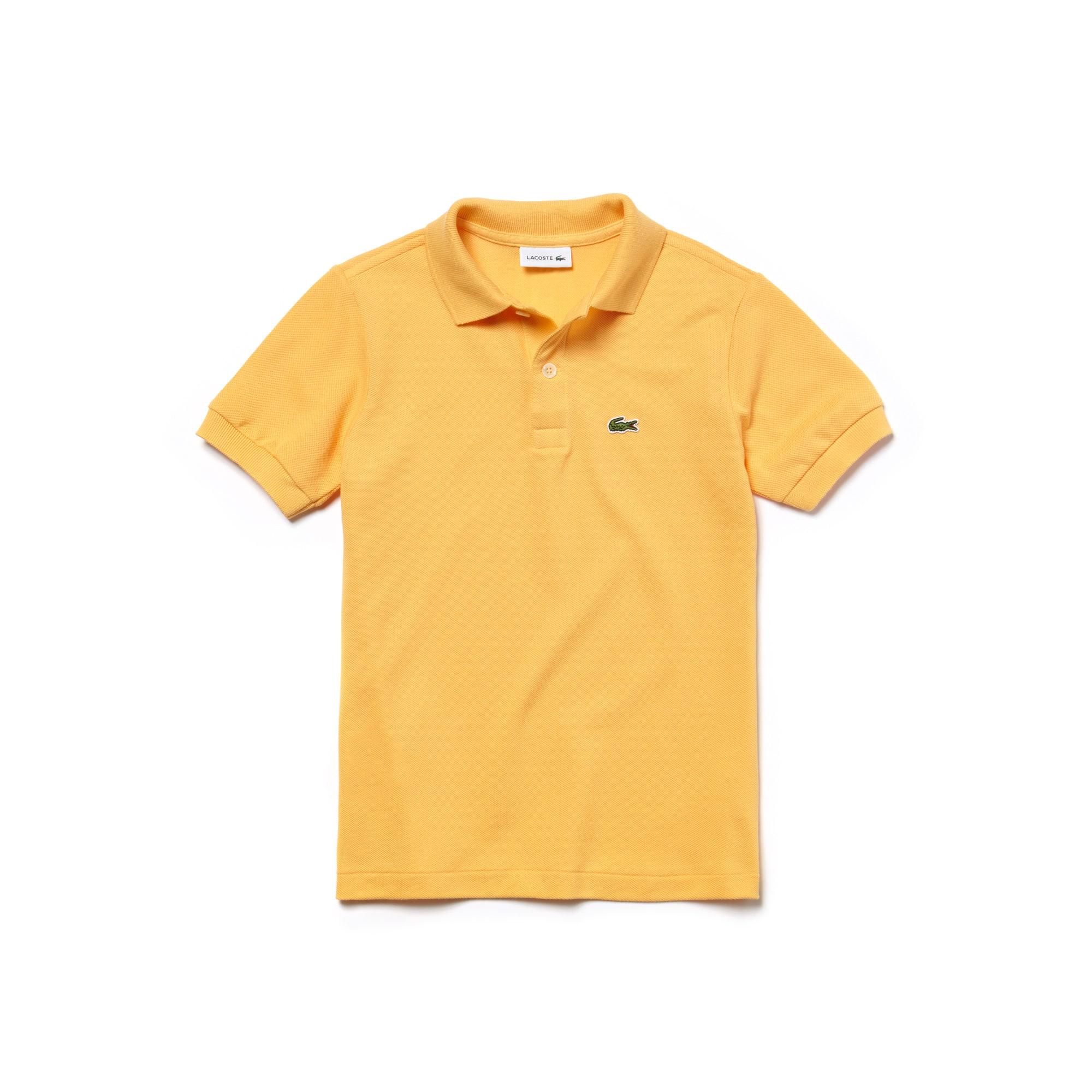 Camisa Polo Lacoste em Petit Piqué