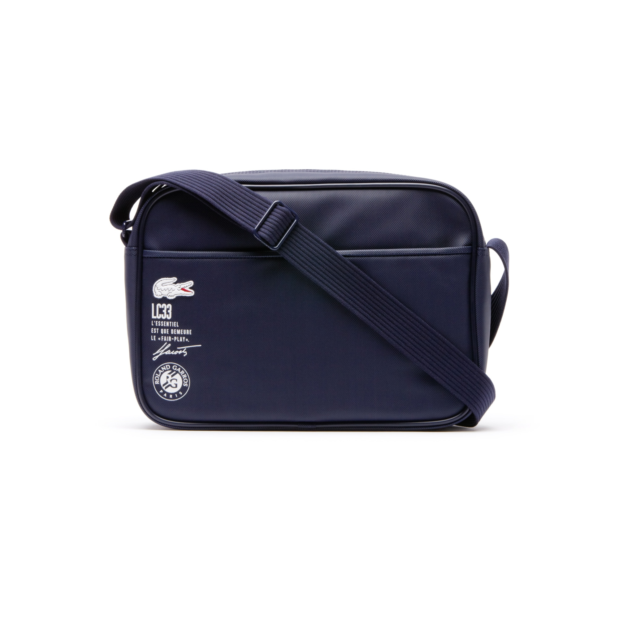 Lacoste Ultimum Airline Messenger Bag Peacoat White Free Delivery eabffe4ddf5ee