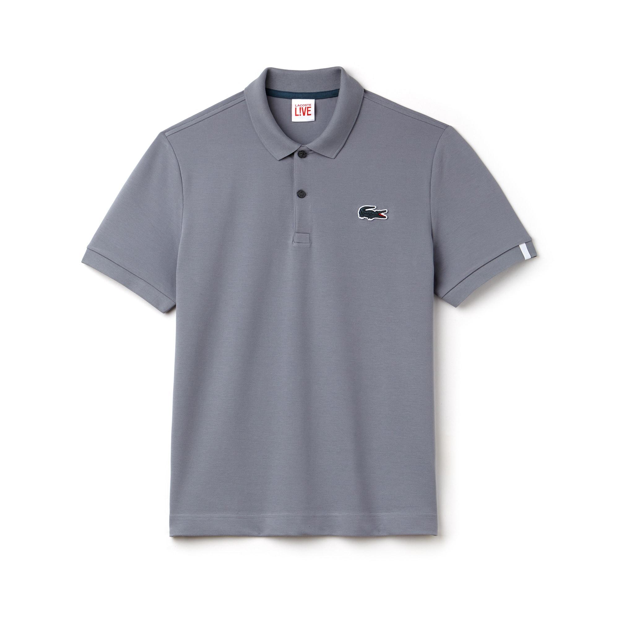 28c803b45e ... Camisa Polo Lacoste LIVE Slim Fit Masculina em Minipiqué Stretch