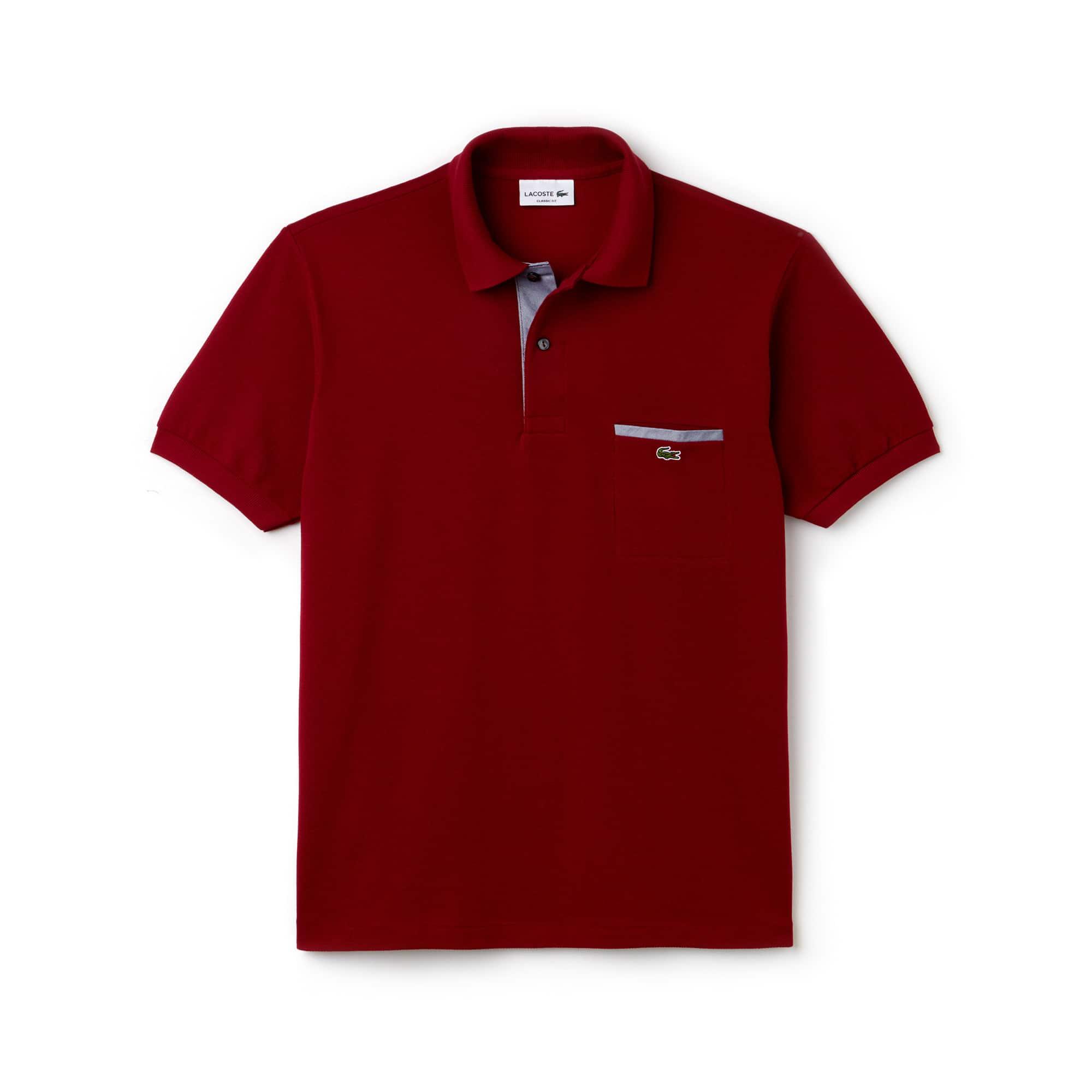 c87a281a64244 ... Camisa Polo Lacoste L.12.12 com Detalhes Contrastantes