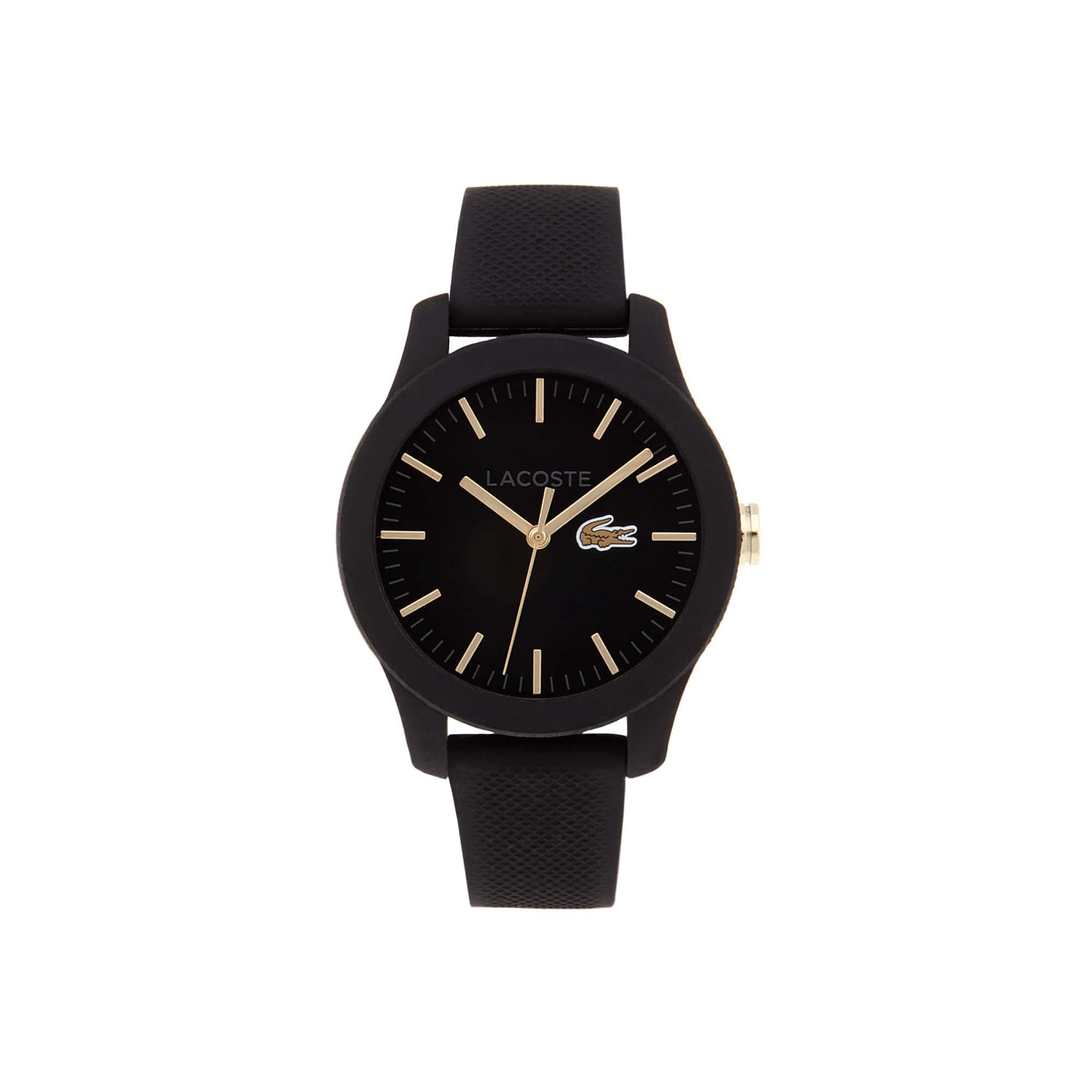 Relógio Lacoste 12.12 Homem com Bracelete em Silicone Preto