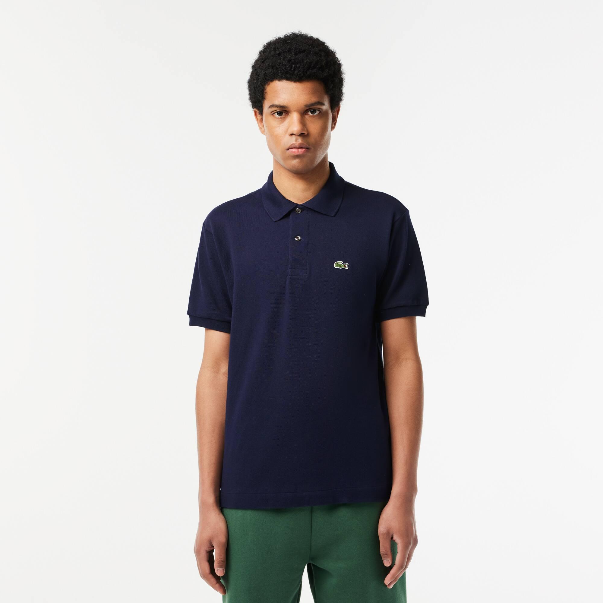 Camisas polo para homens, manga longa e manga curta   LACOSTE 01be313dfe