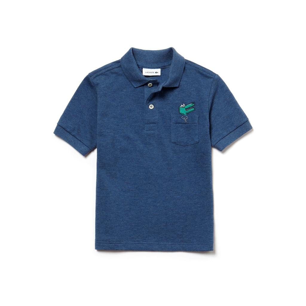 Camisa Polo Lacoste Masculina Infantil em Piqué   LACOSTE 1bc7f730c1