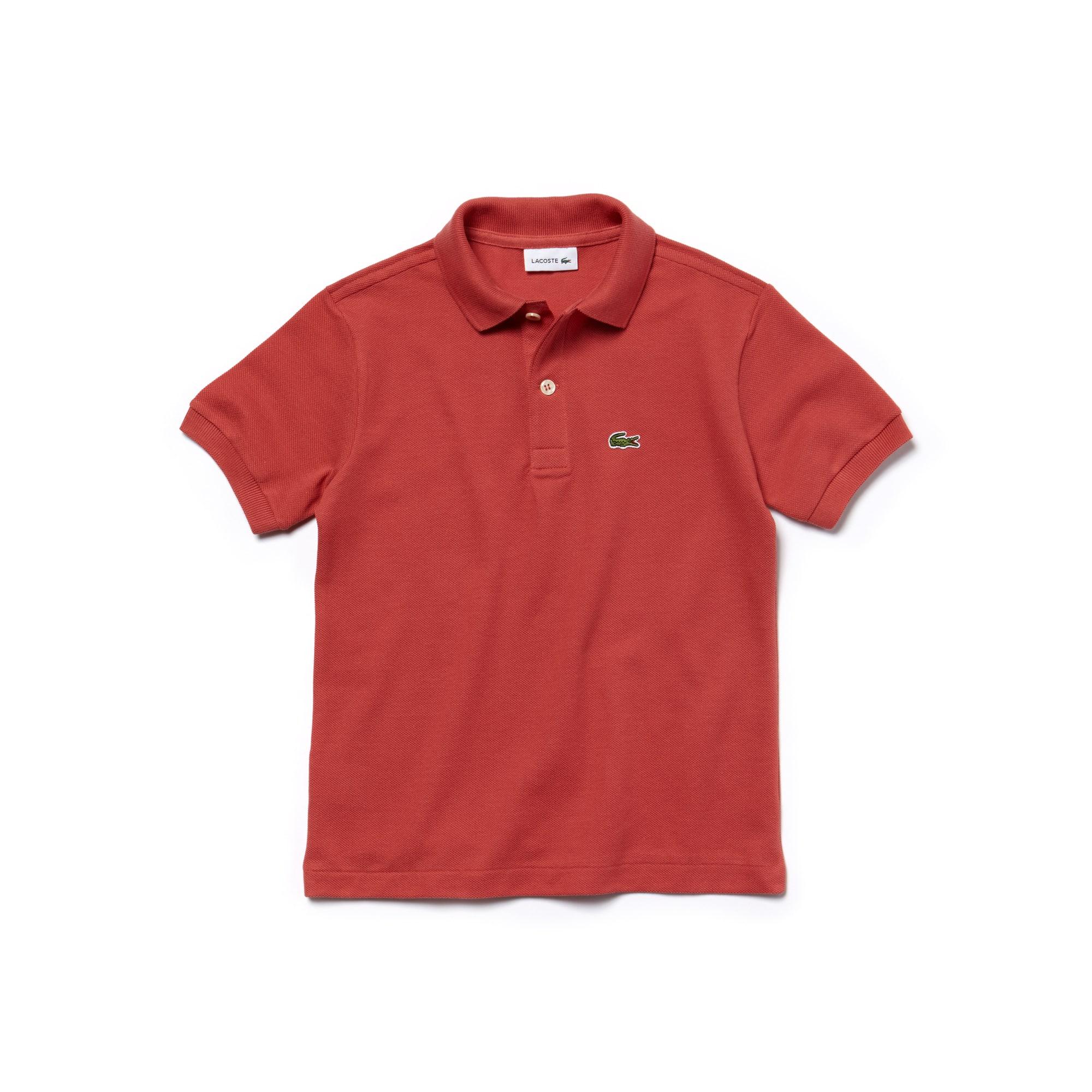 0d4008008bf43 Camisa Polo Lacoste em Petit Piqué