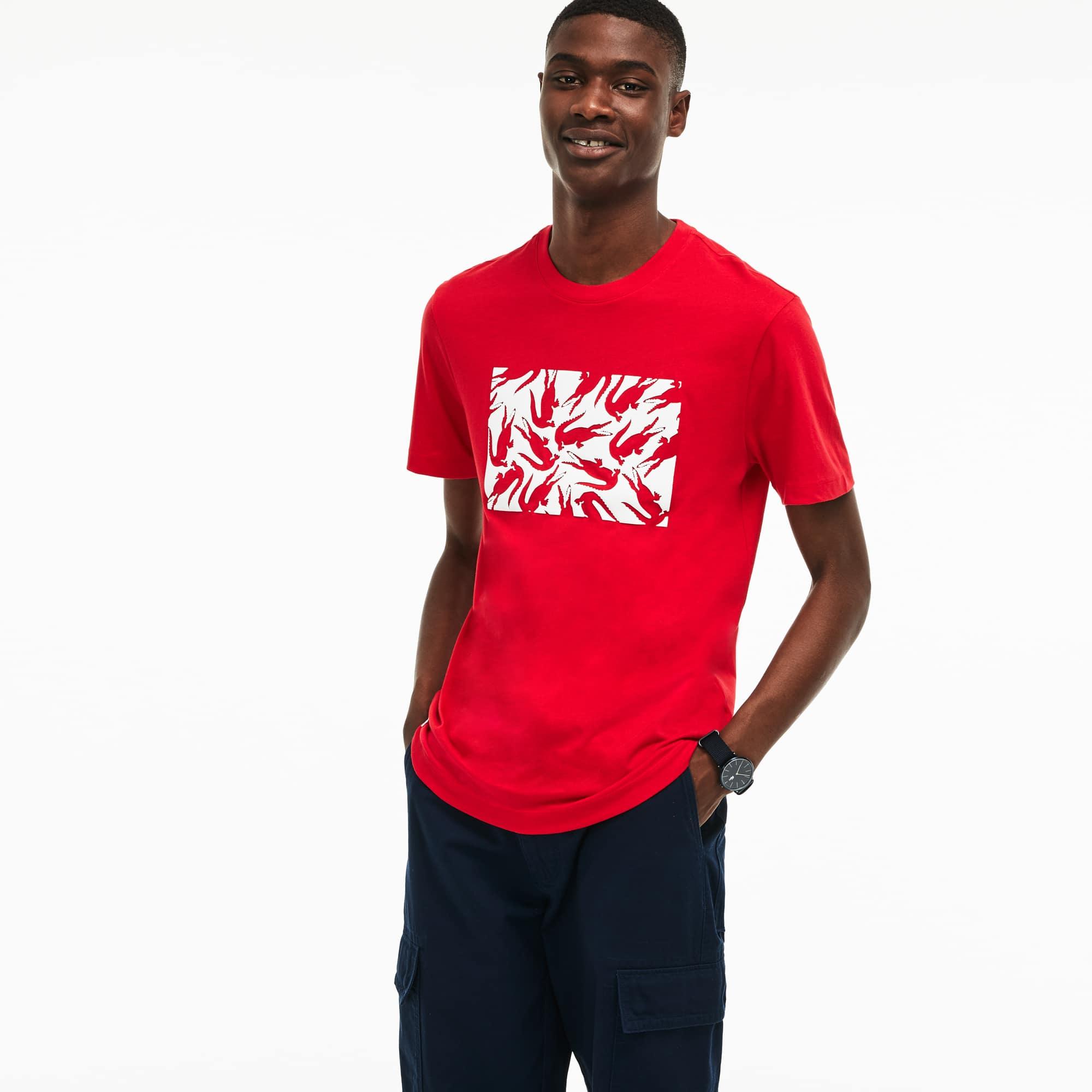 Camisetas Moda Masculina Lacoste