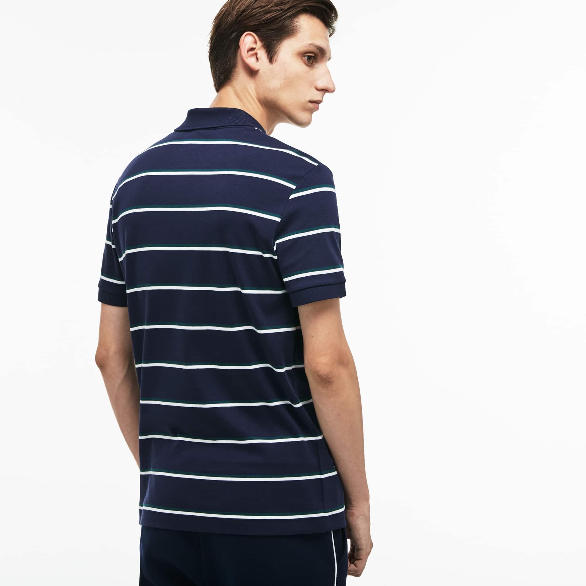 dc53e3ec7b2b Camisa polo masculina Regular Fit listrada | LACOSTE