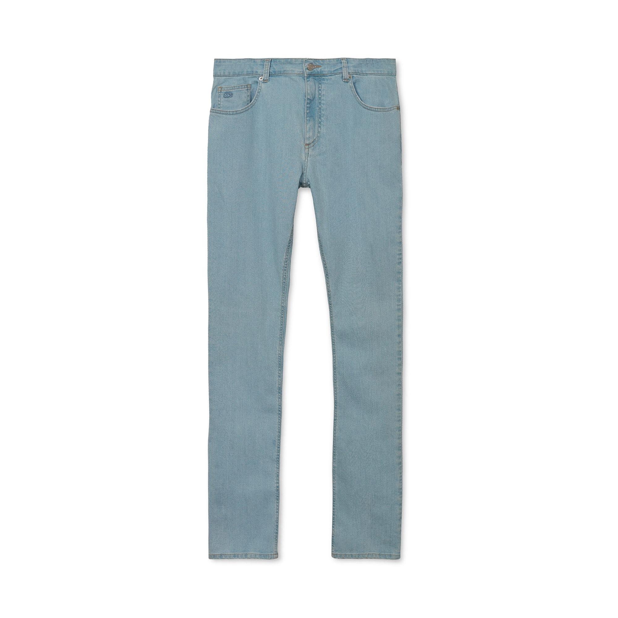 a03f854d7d663 Calça Lacoste masculina straight fit com 5 bolsos