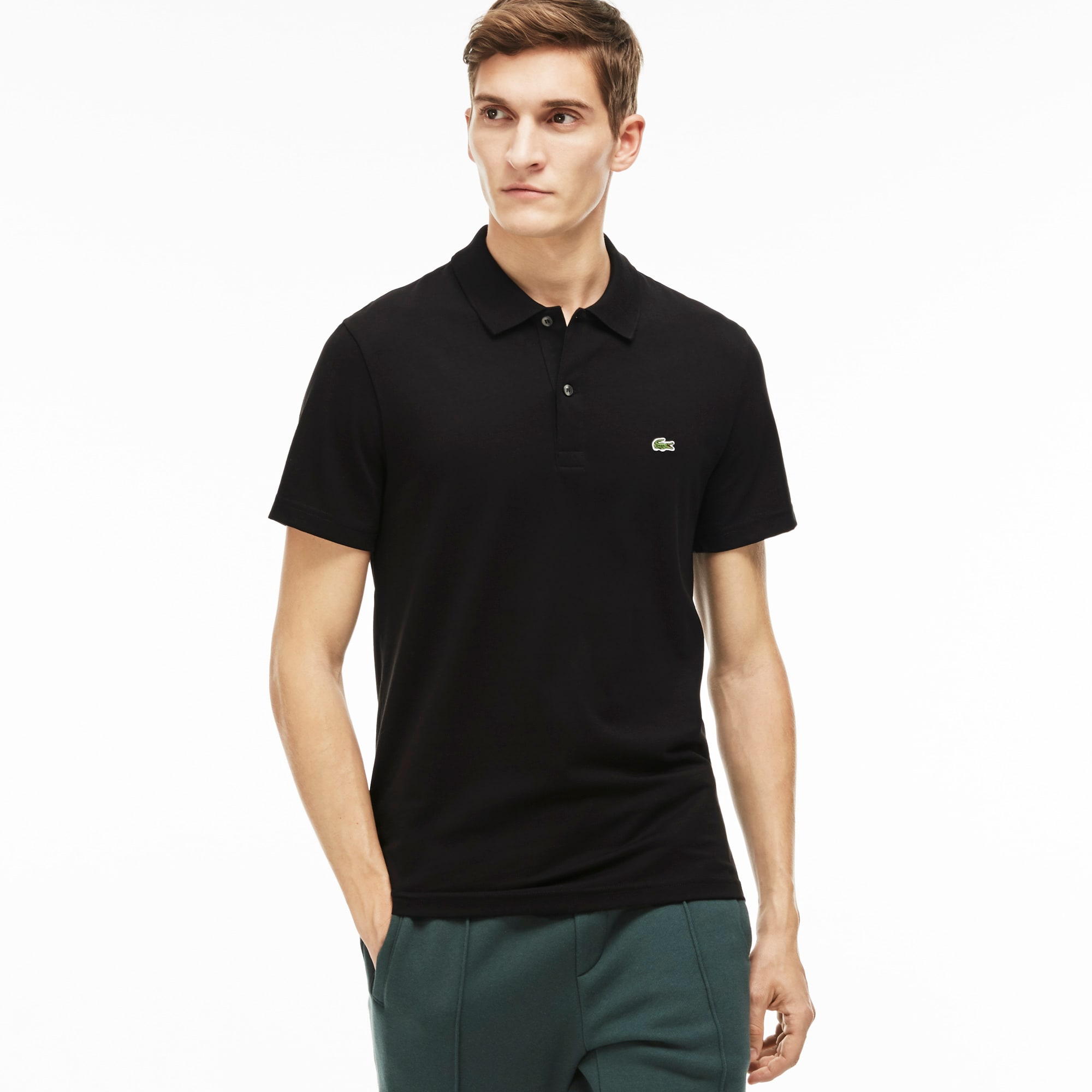 Camisa polo Lacoste masculina regular fit 8be45ee7068a2