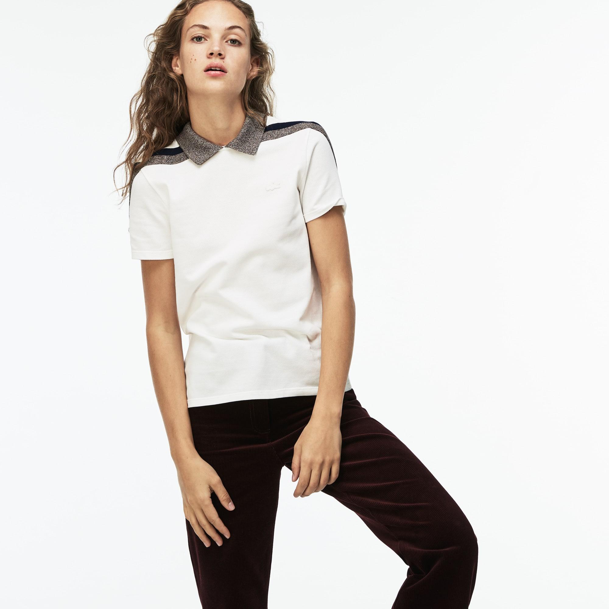 613cd5170879d Camisas polo para mulheres  manga longa e sem manga