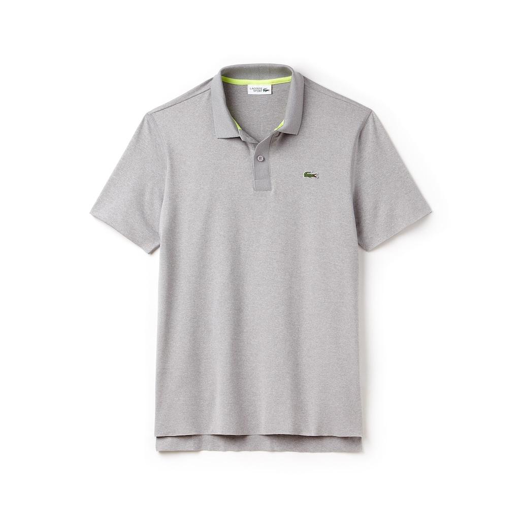 1c81c080844f5 Camisa Polo Lacoste Sport Tennis Masculina em Jérsei Stretch Mesclado