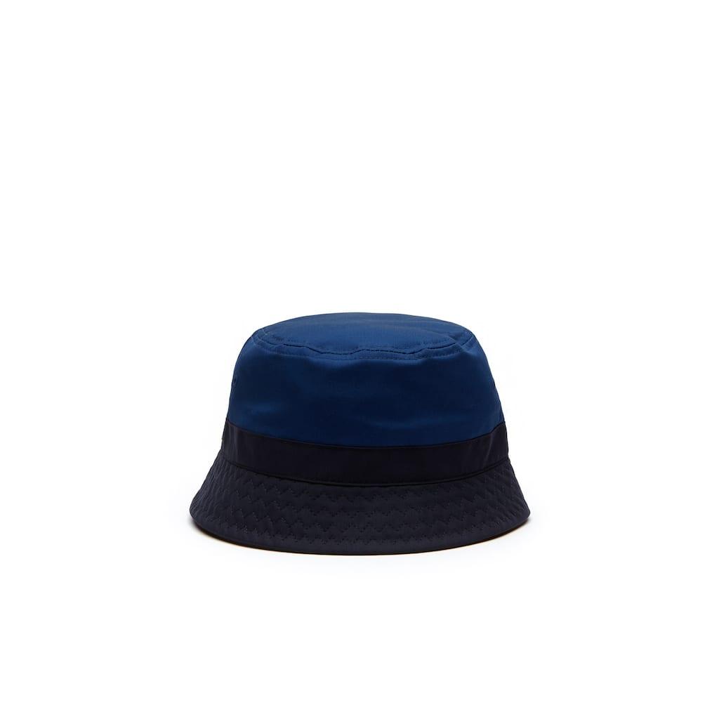 d52f415f16ac4 Chapéu Bucket Masculino em Sarja Stretch Bicolor   LACOSTE