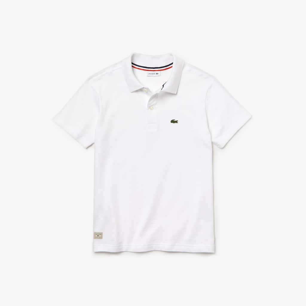 Camisa Polo Lacoste Infantil Masculina em Jérsei de Algodão   LACOSTE 2a6becca02