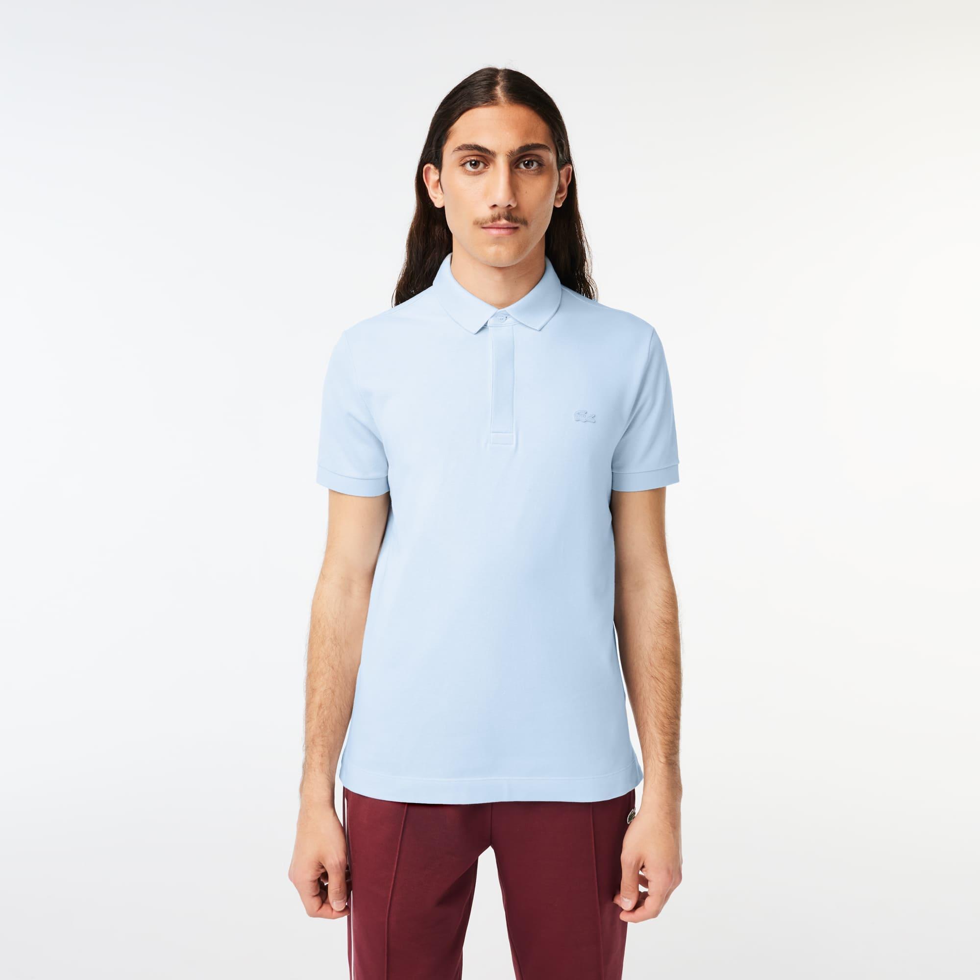 Camisa Polo Lacoste Paris Regular Fit Masculina em piquet de Algodão Stretch e177b7aba3