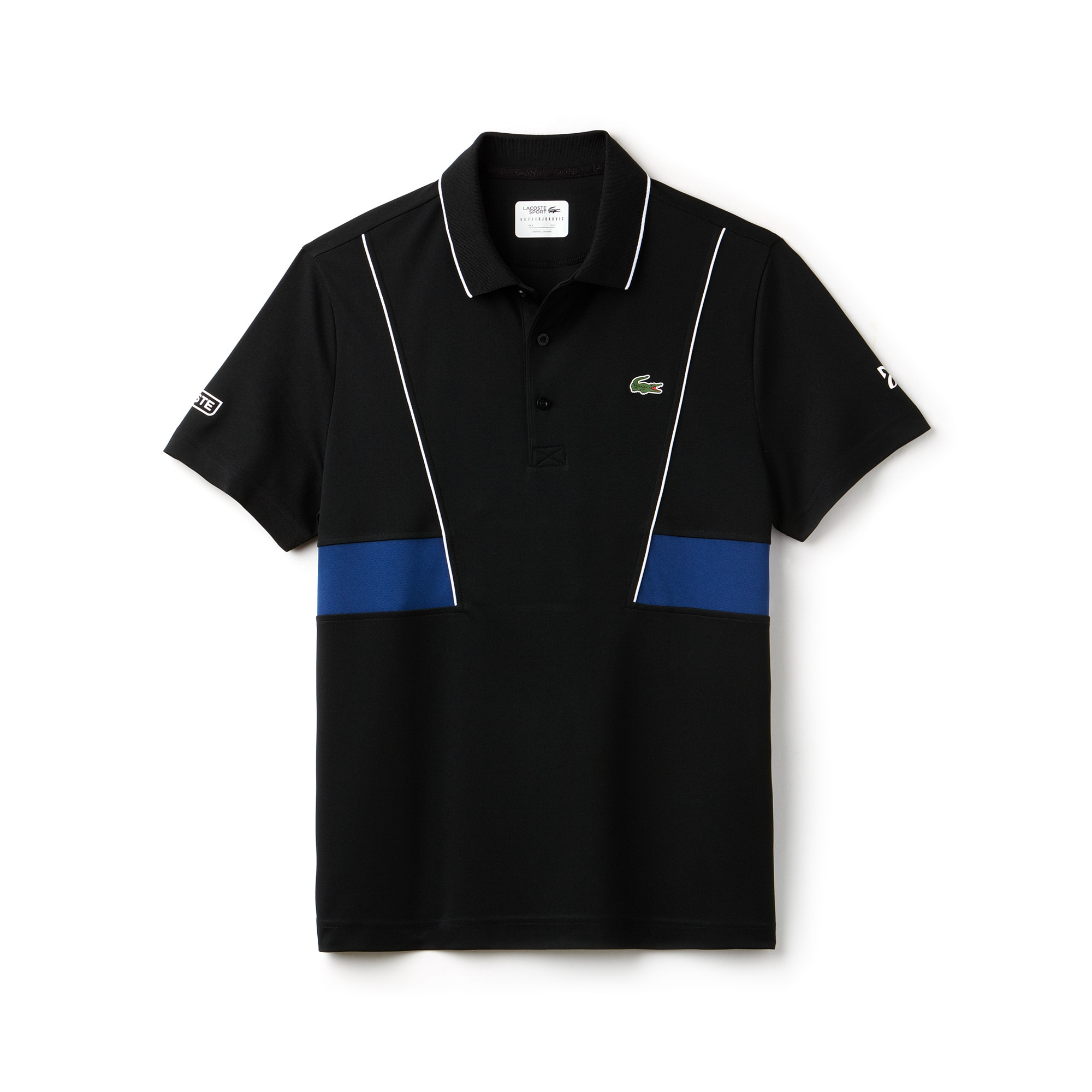 Camisa Lacoste Sport Coleção Novak Djokovic em Piqué Técnico  a1746efff241a