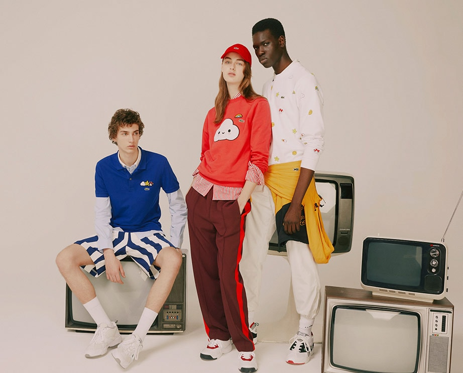 Lacoste SS20 Del 3 - Croco Series - Lacoste x Friends With You