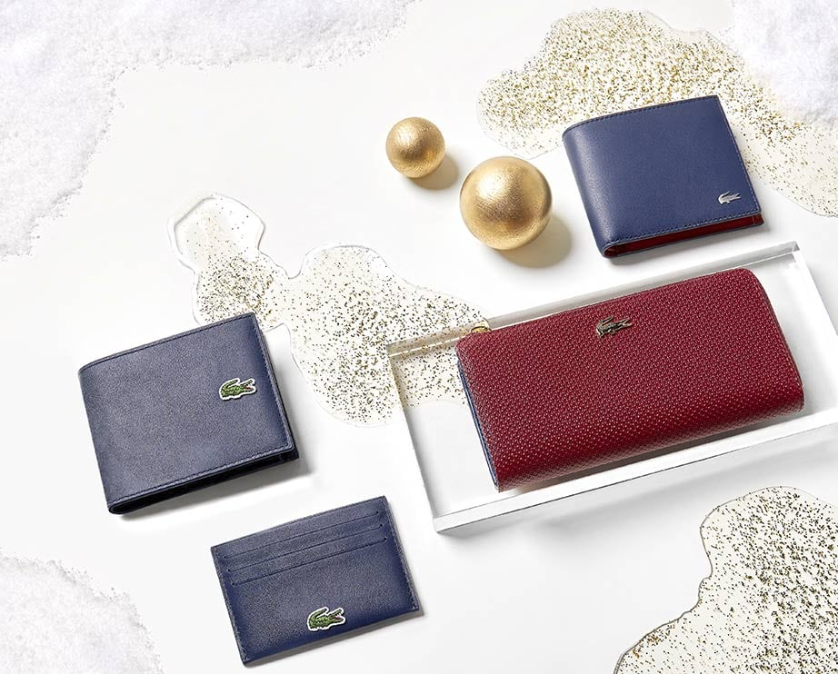 Christmas Leather Goods Selection