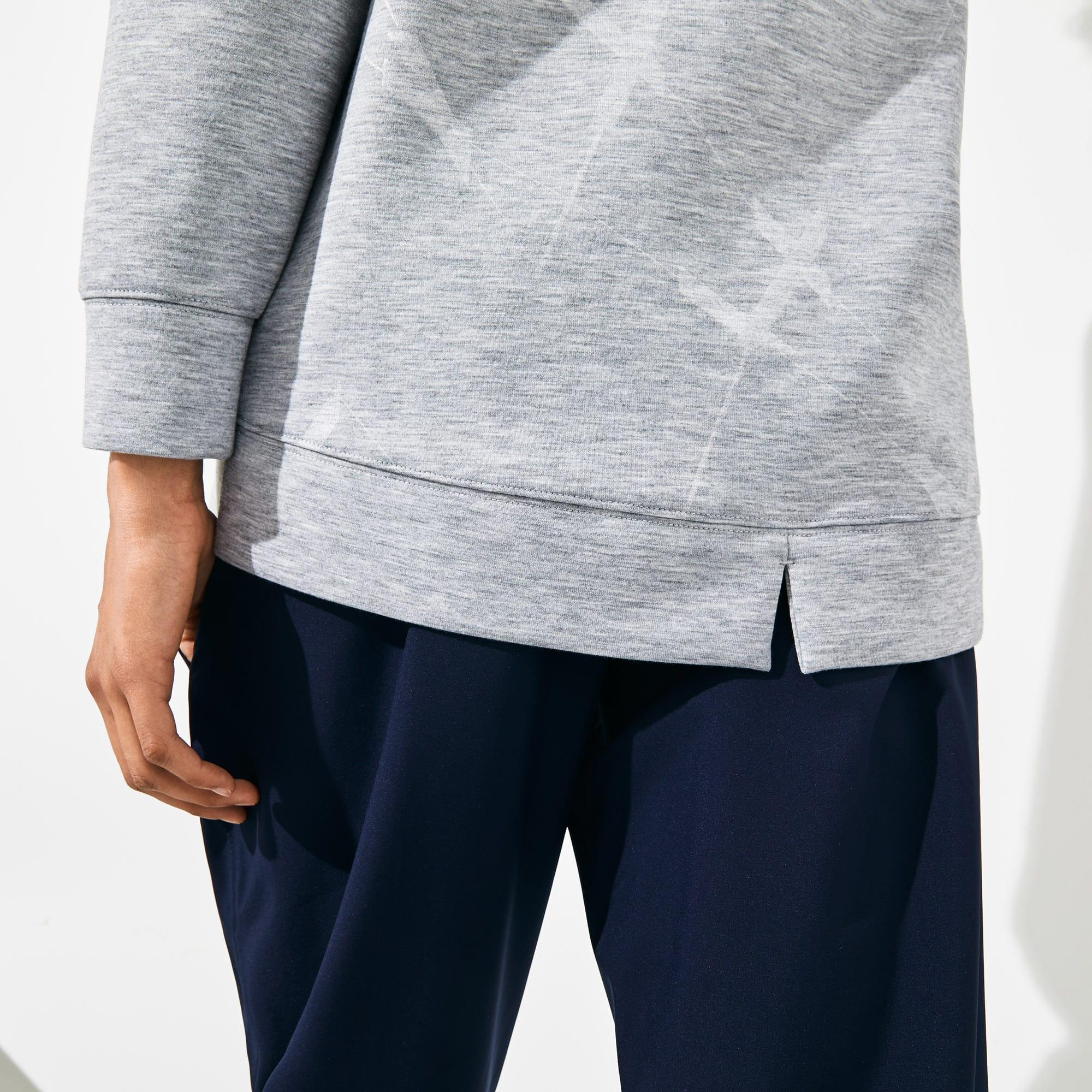 new style 52ca2 714d2 Damen LACOSTE SPORT Tennis-Sweatshirt mit Kapuze