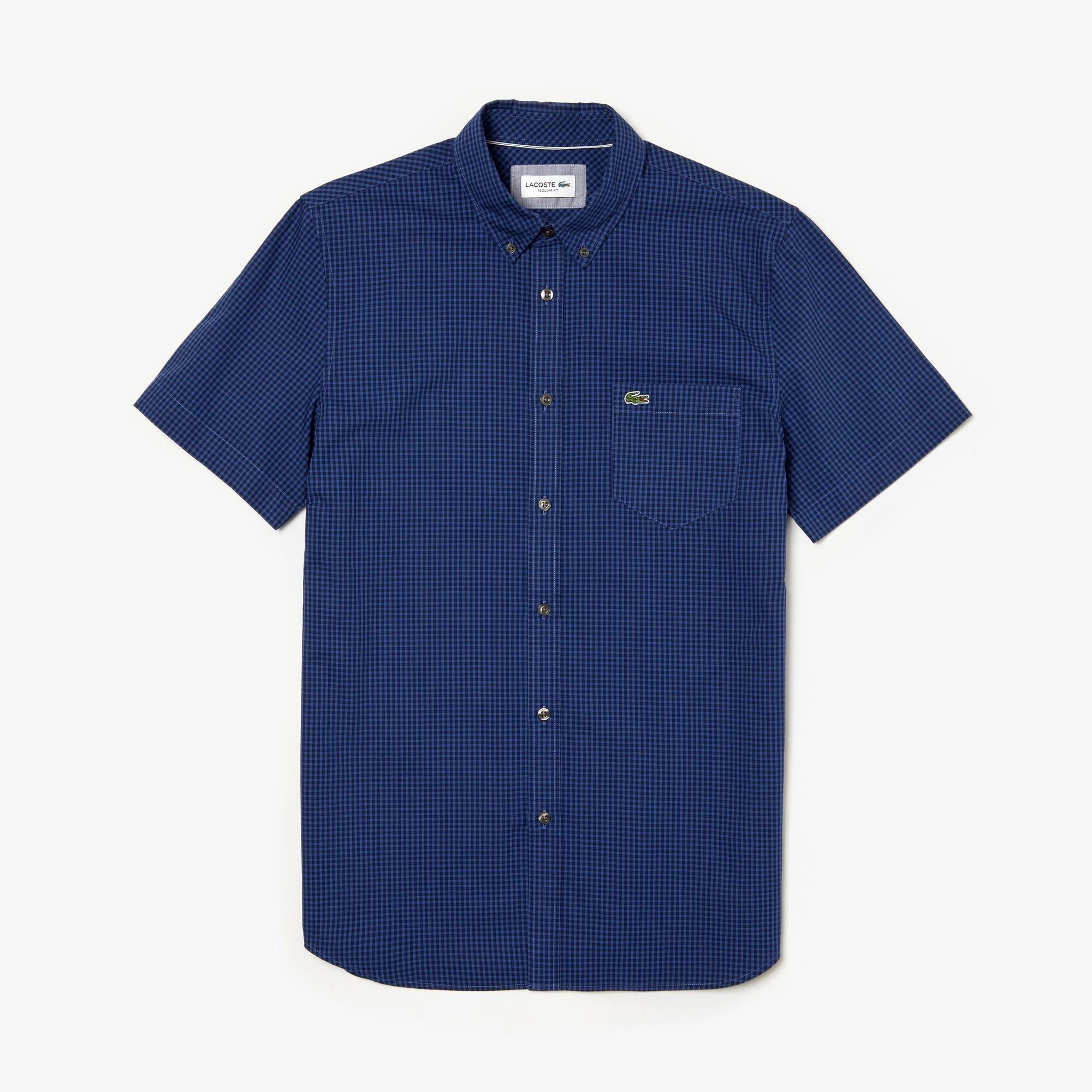 5a9aa1687ff4 Herren Regular Fit Hemd mit Karomuster. CHF 129,00 129.00 CHF. Farbe   NAVY  BLUE IODINE