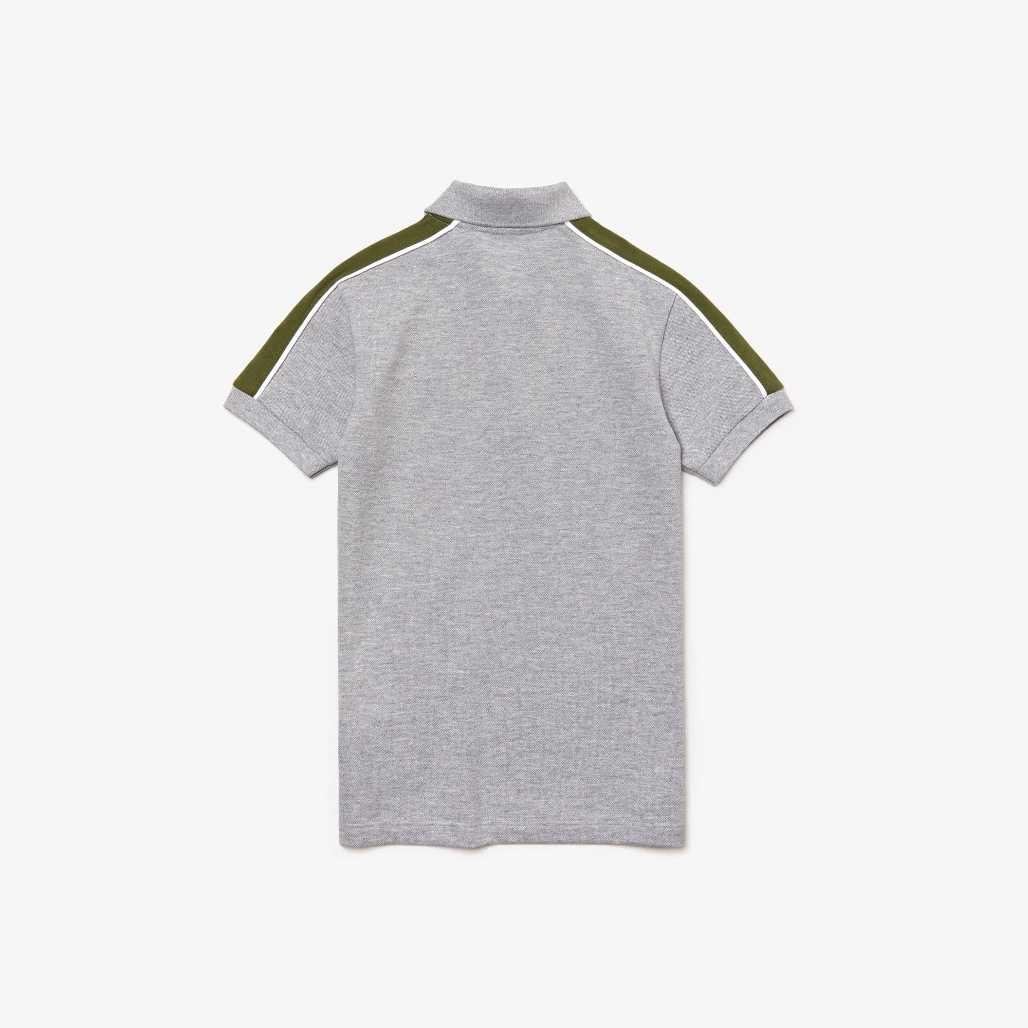 Petit Piqué Design Poloshirt Lacoste Colorblock Jungen Aus Im eHYE29DIW