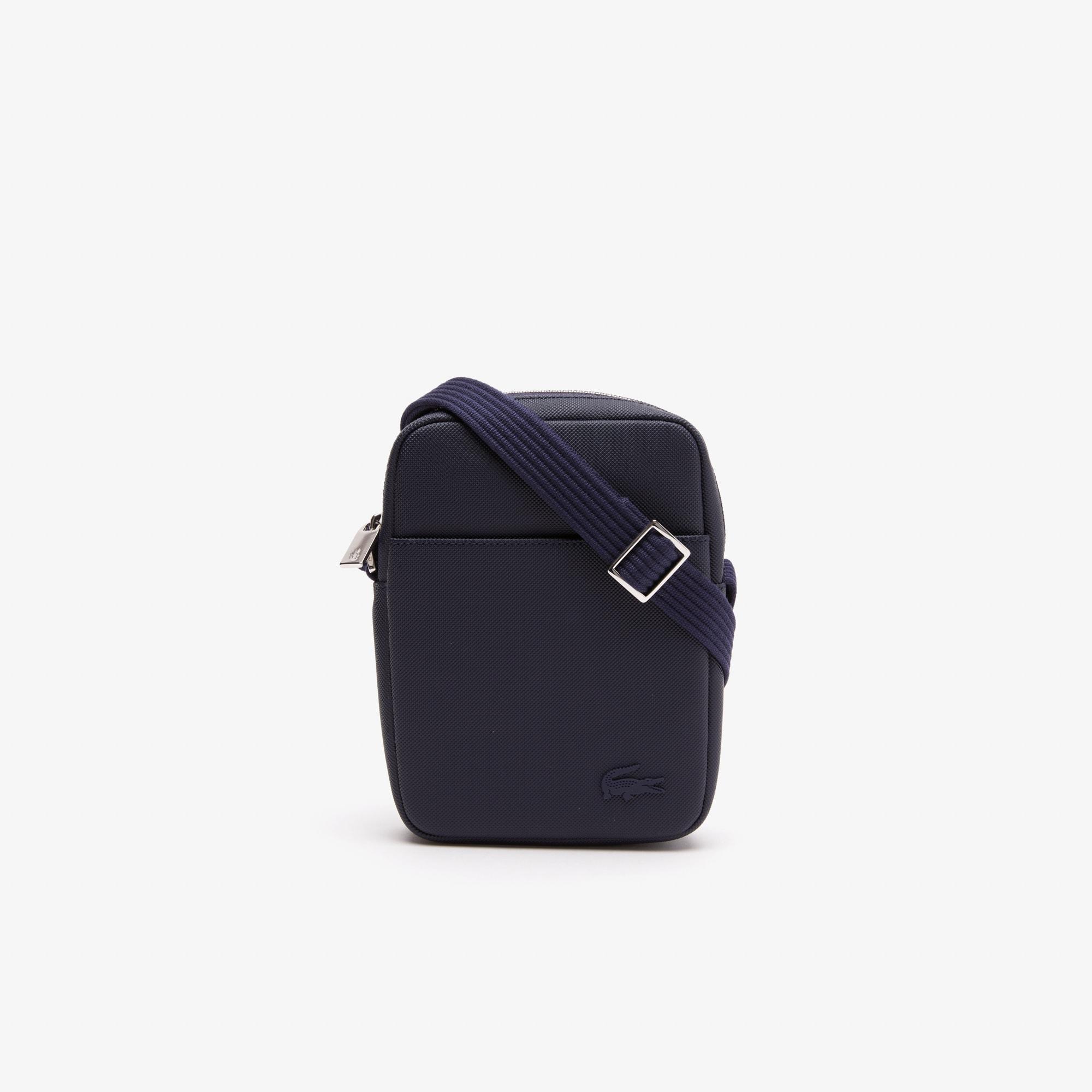 Men's Classic Petit Piqué Vertical Zip Bag