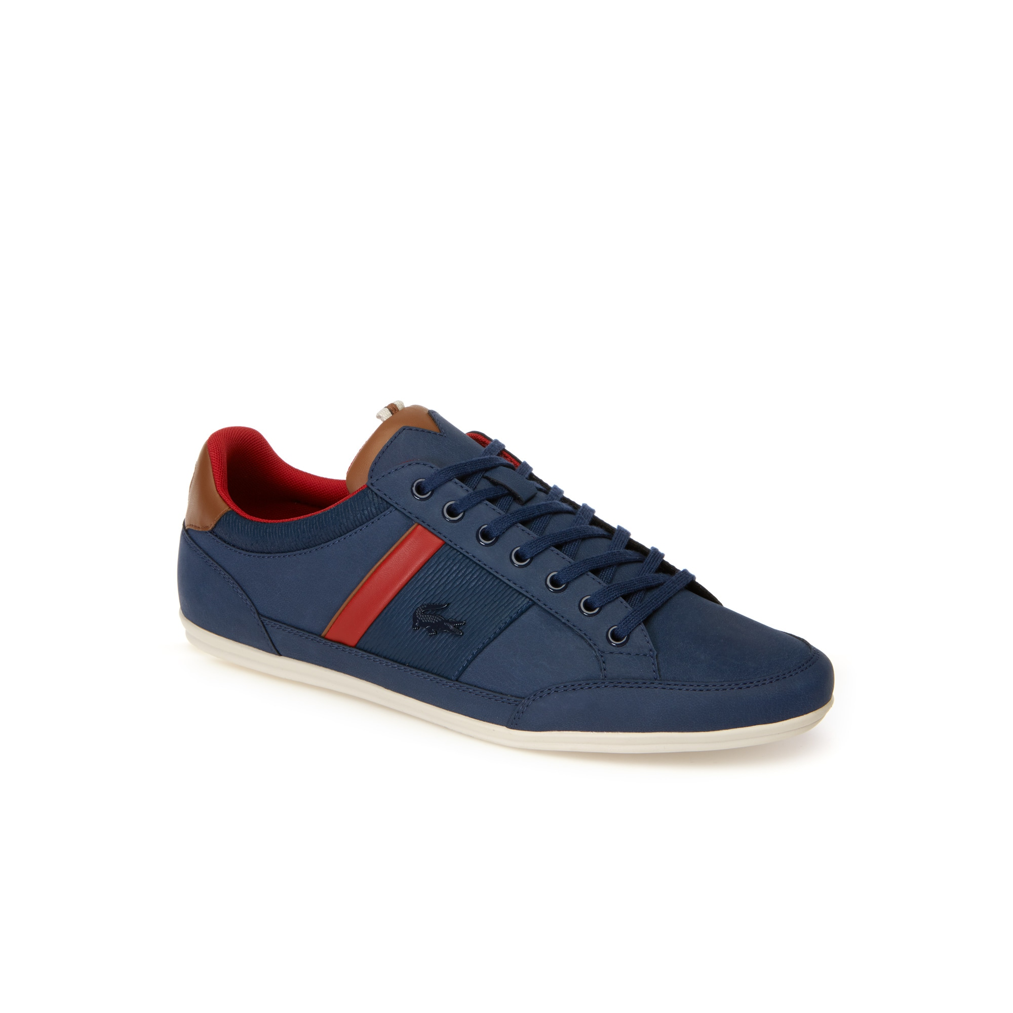 Men's Chaymon Nappa Leather and Suede Trainers