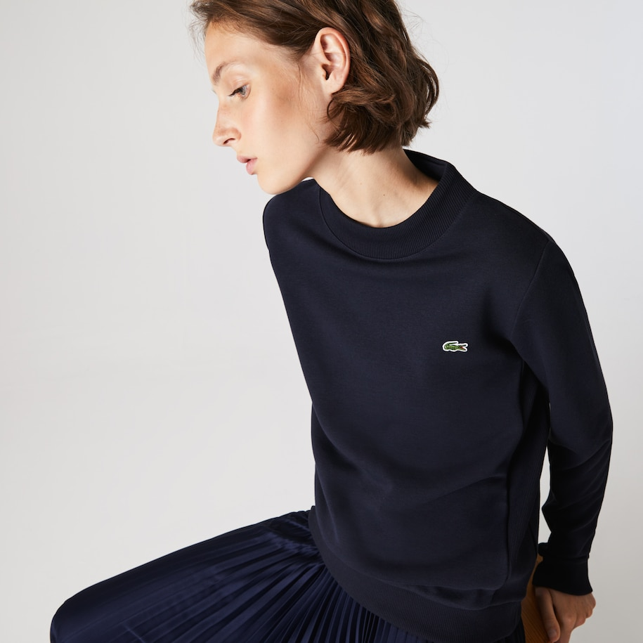 Women's Lacoste SPORT Fleece Tennis Sweatshirt