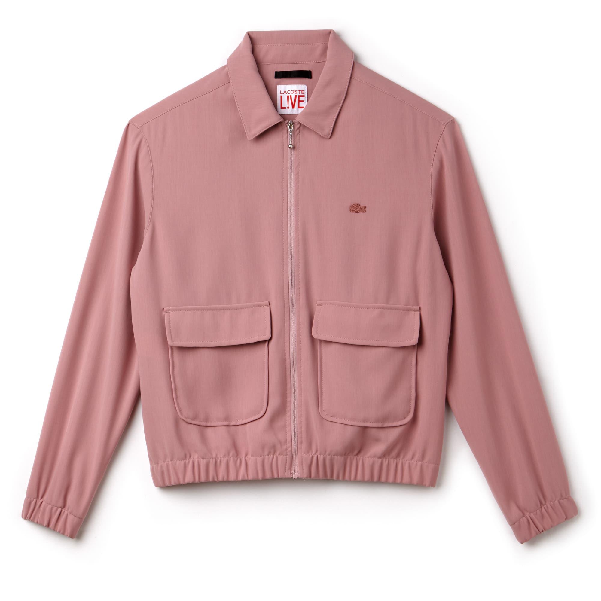 Women's Lacoste LIVE Crepe Short Zip Jacket