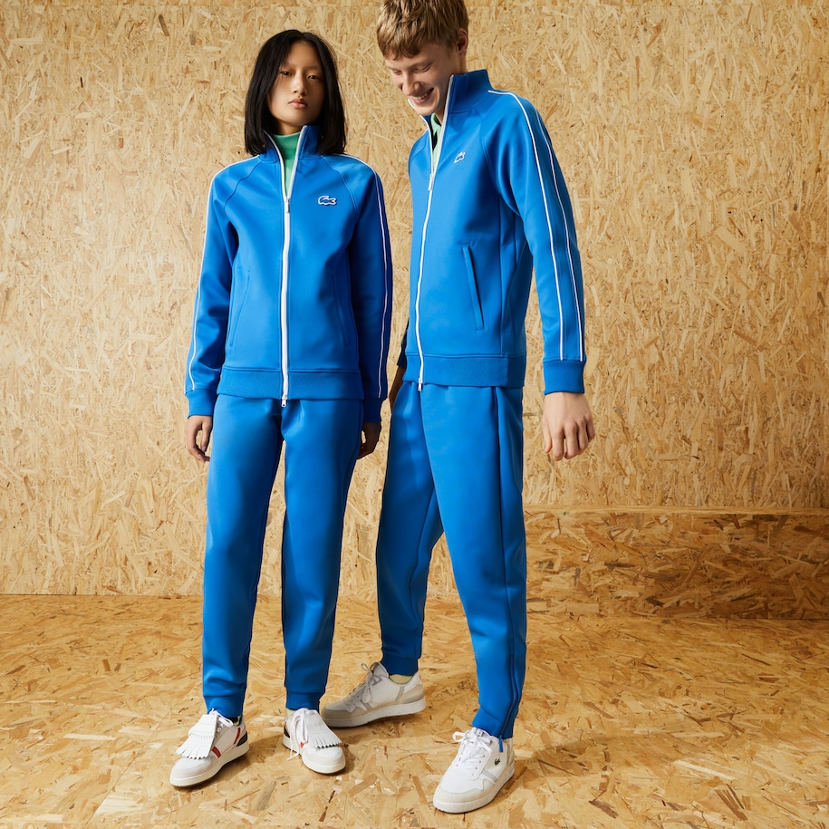 Unisex Fashion Show Edition Solid Tracksuit Pants