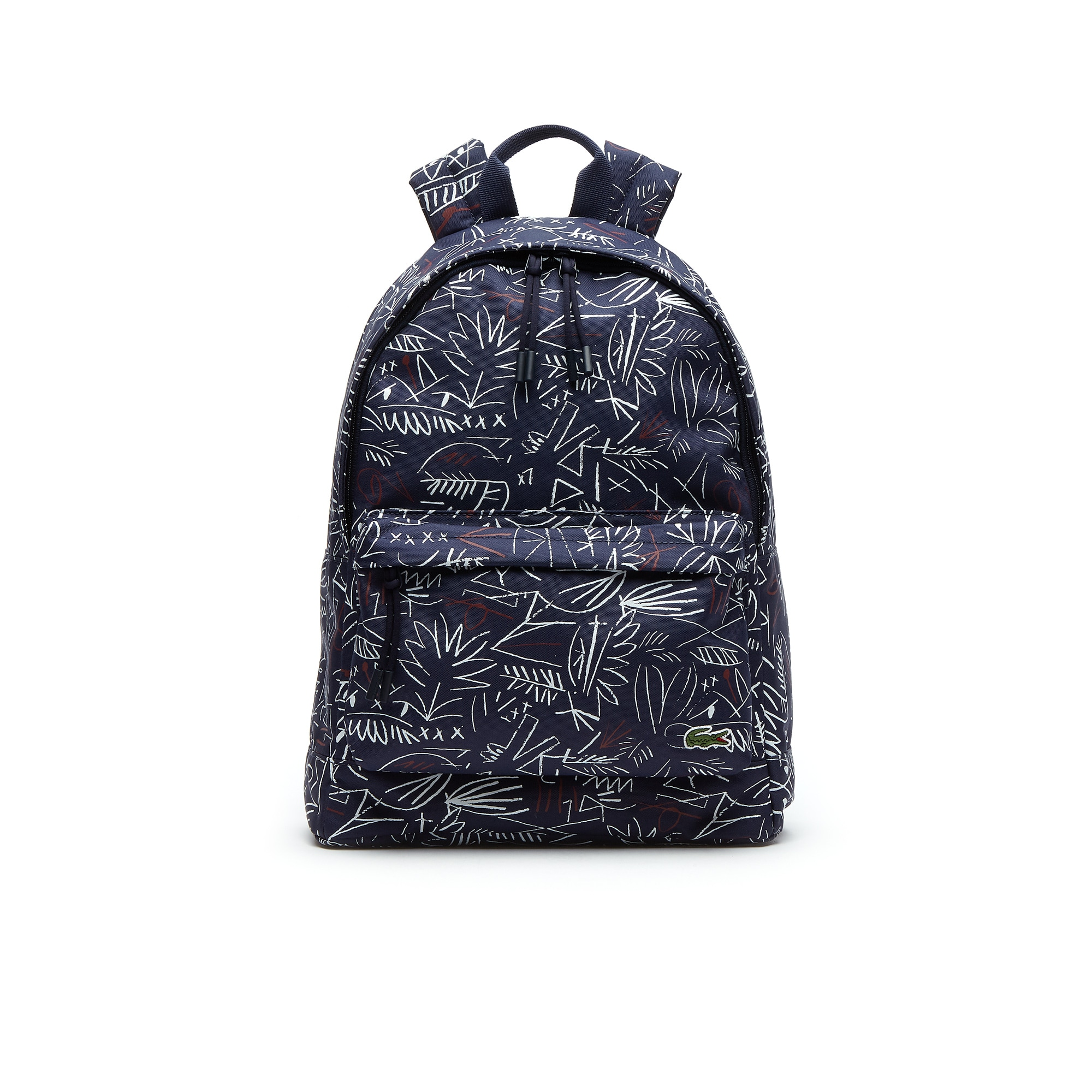 Men's Néocroc Egyptian Graphic Print Canvas Backpack