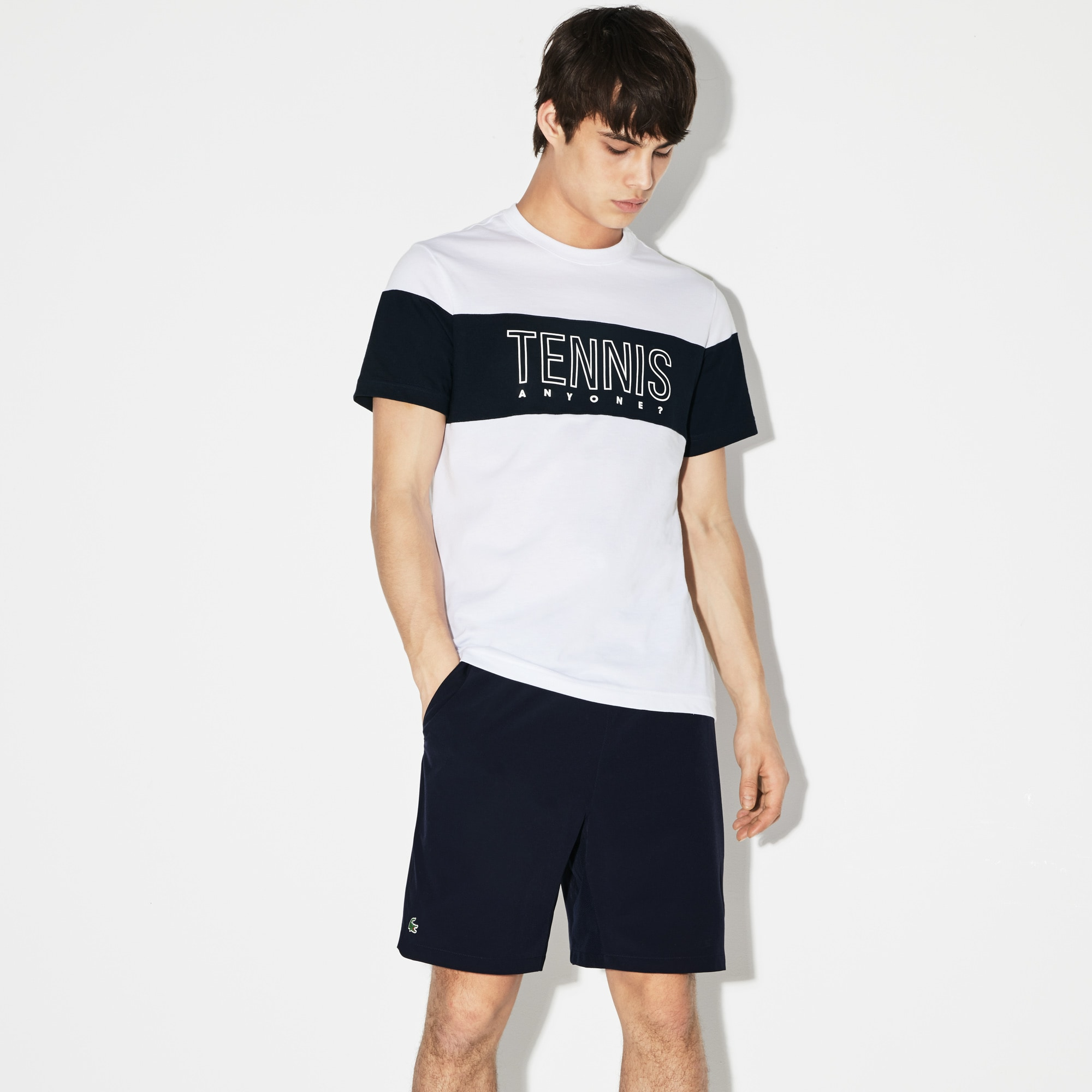 Men's Lacoste SPORT Roland Garros Edition Technical Jersey T-shirt