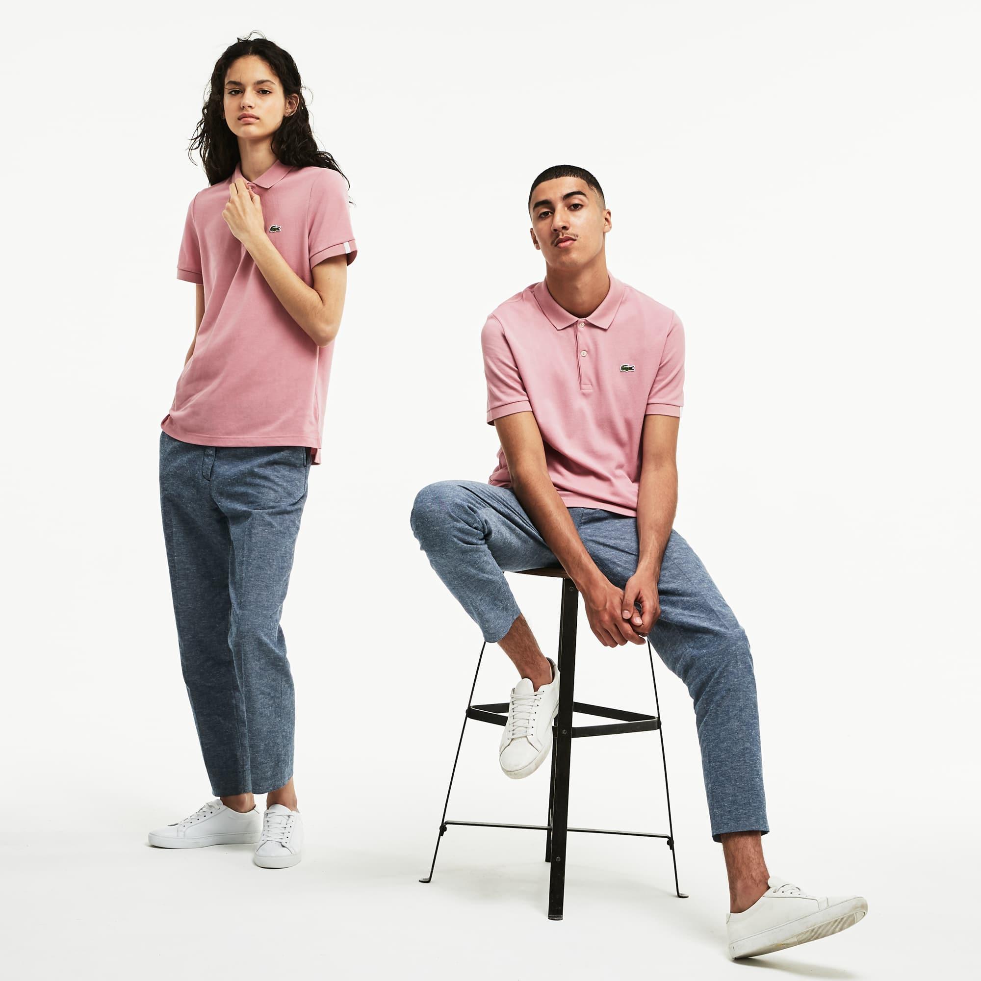 Unisex Lacoste LIVE Slim Fit Petit Piqué Polo Shirt