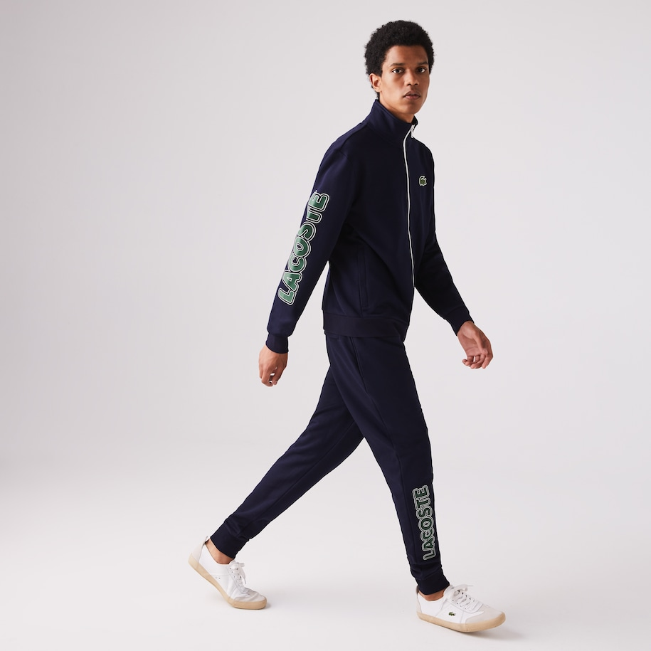 Men's Lacoste SPORT Signature Fleece Tracksuit