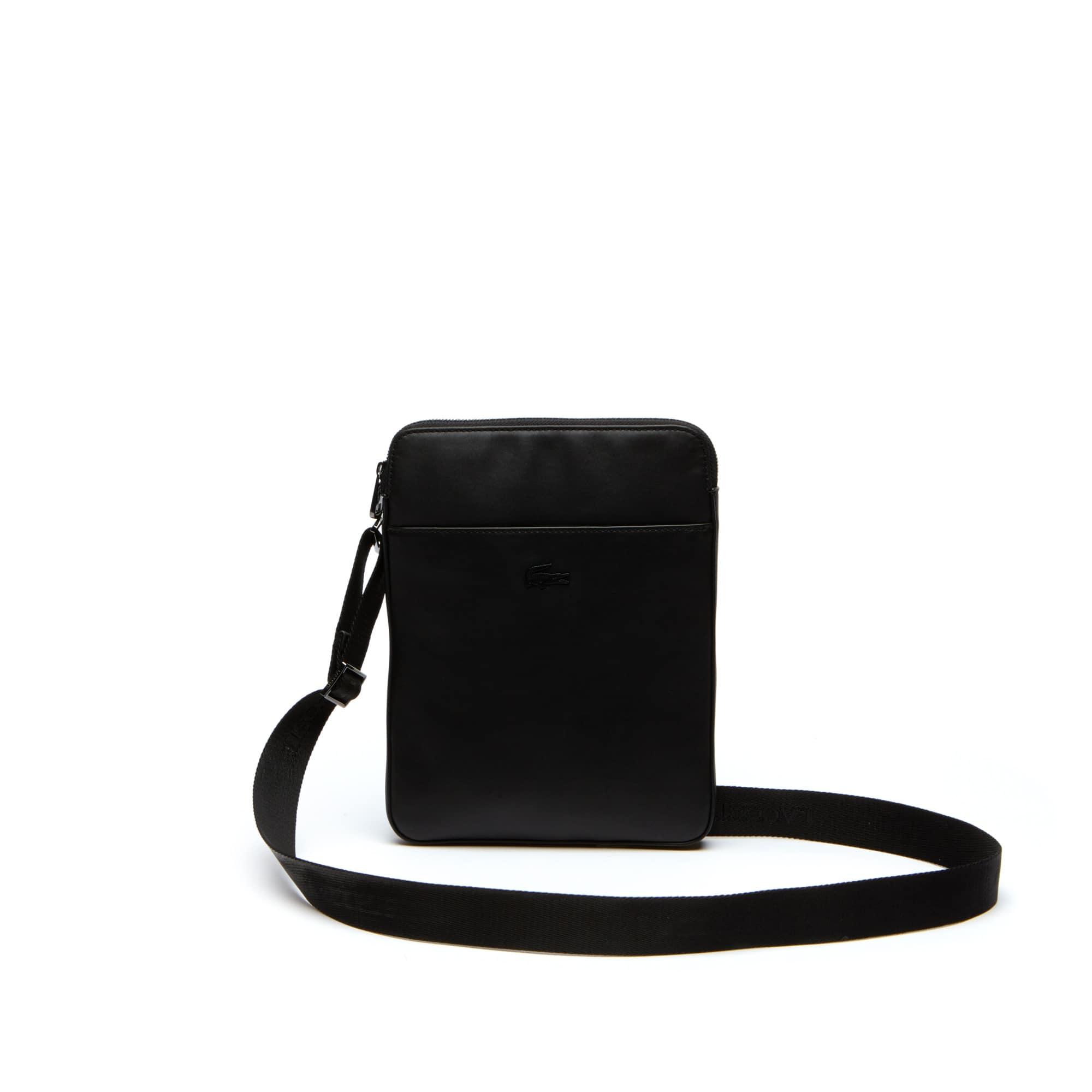 Men's Full Ace Leather Flat Bag