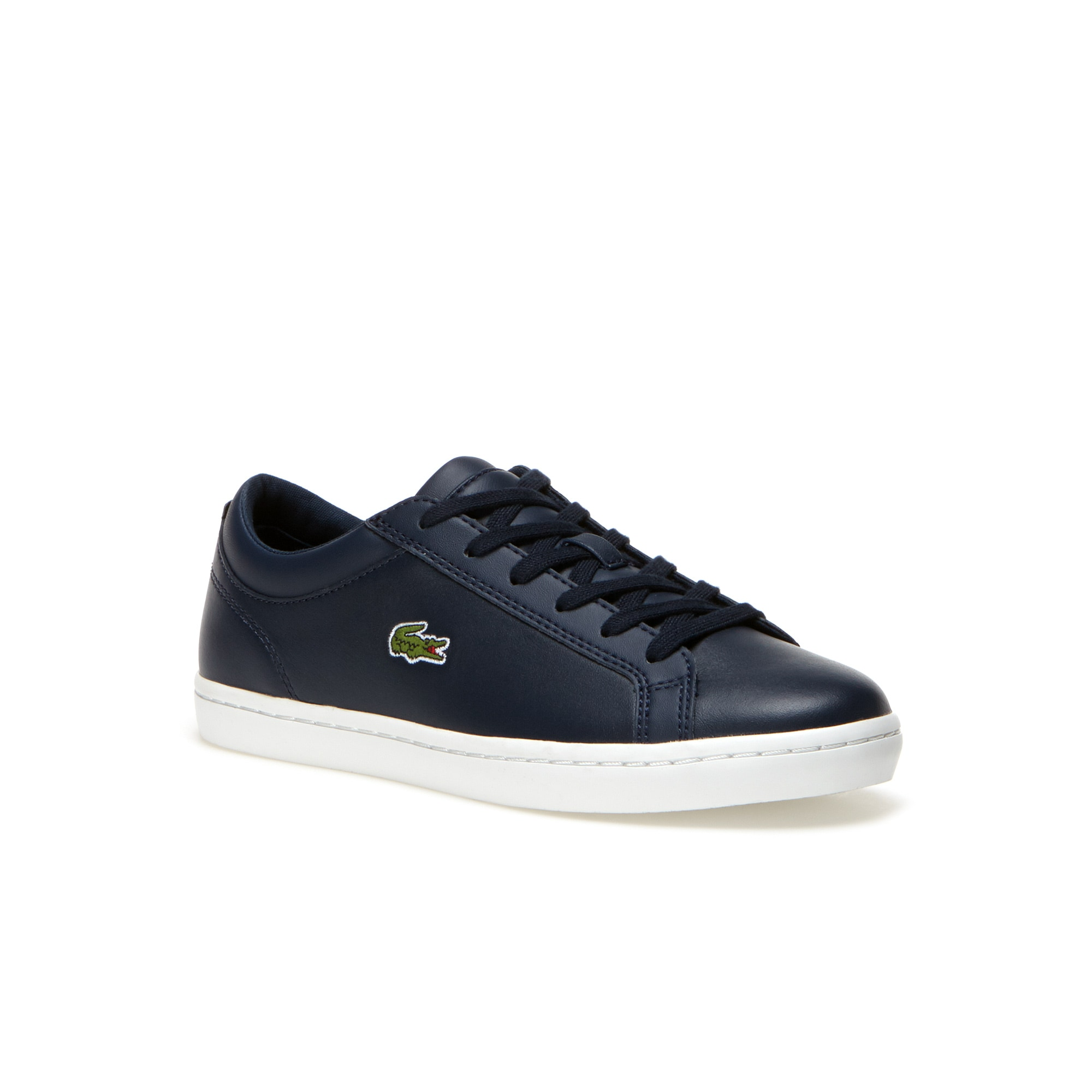 Women's Straightset Leather Sneakers