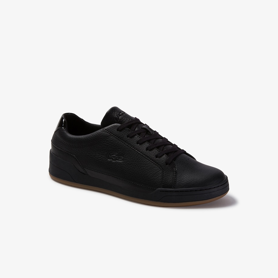 Men's Challenge Tumbled Leather Trainers