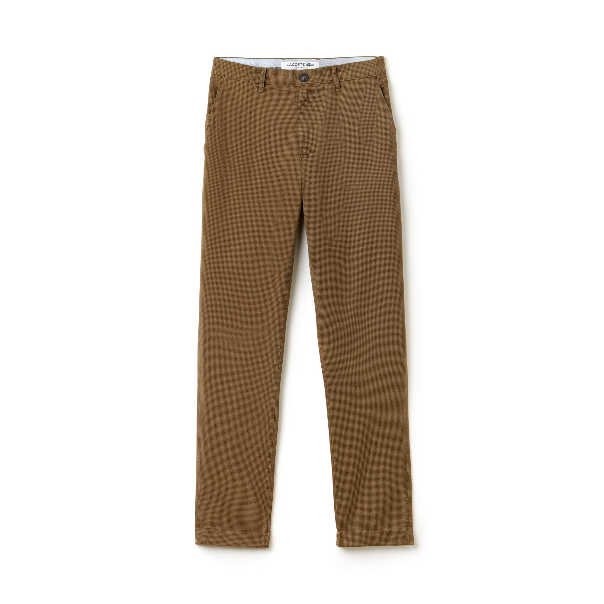 Men's Slim Fit Print Stretch Twill Chino Pants